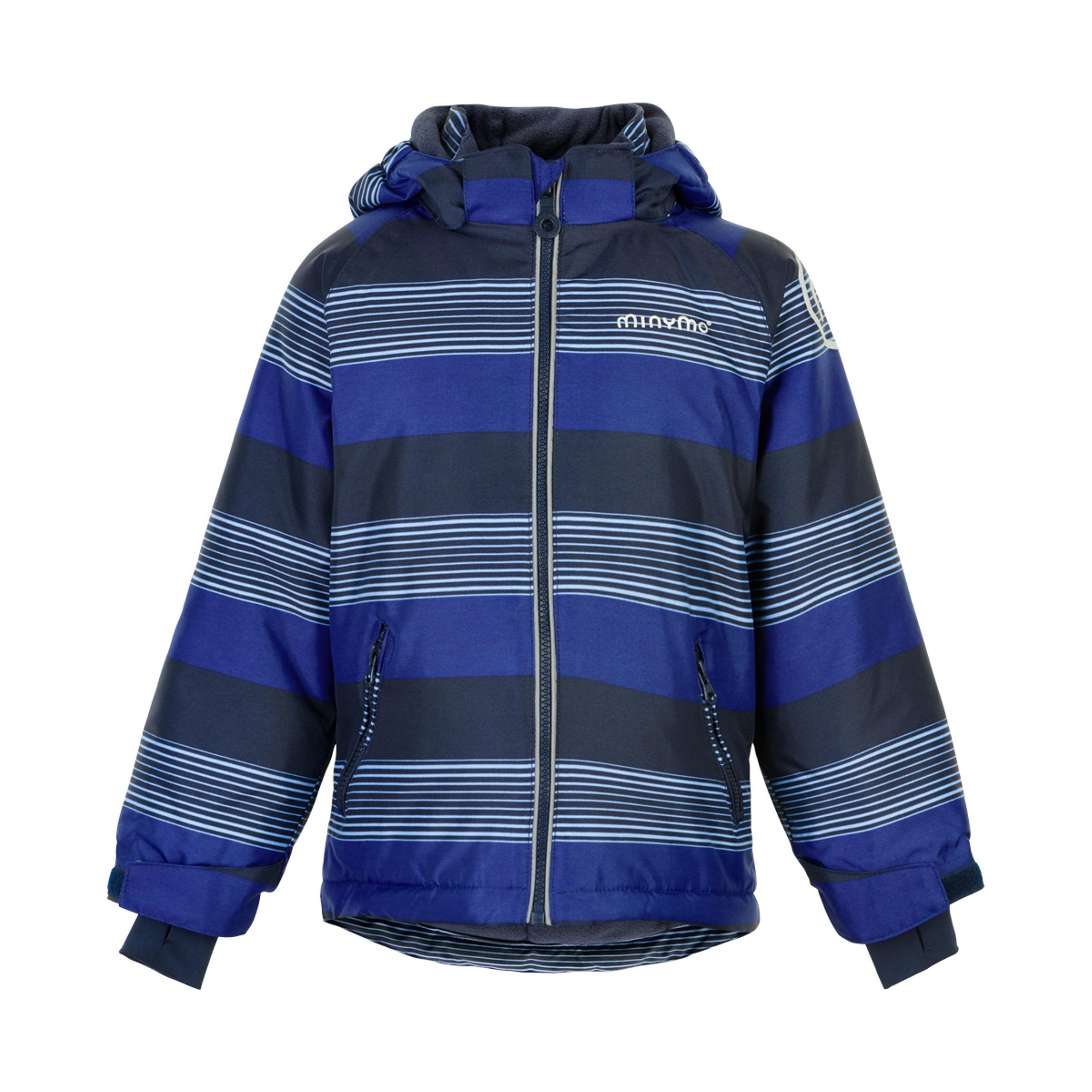 Minymo Boy Winterjacke Oxfort Placid Blue