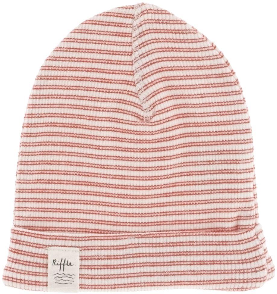 Riffle Amsterdam Babymütze red stripe 0-3 Monate