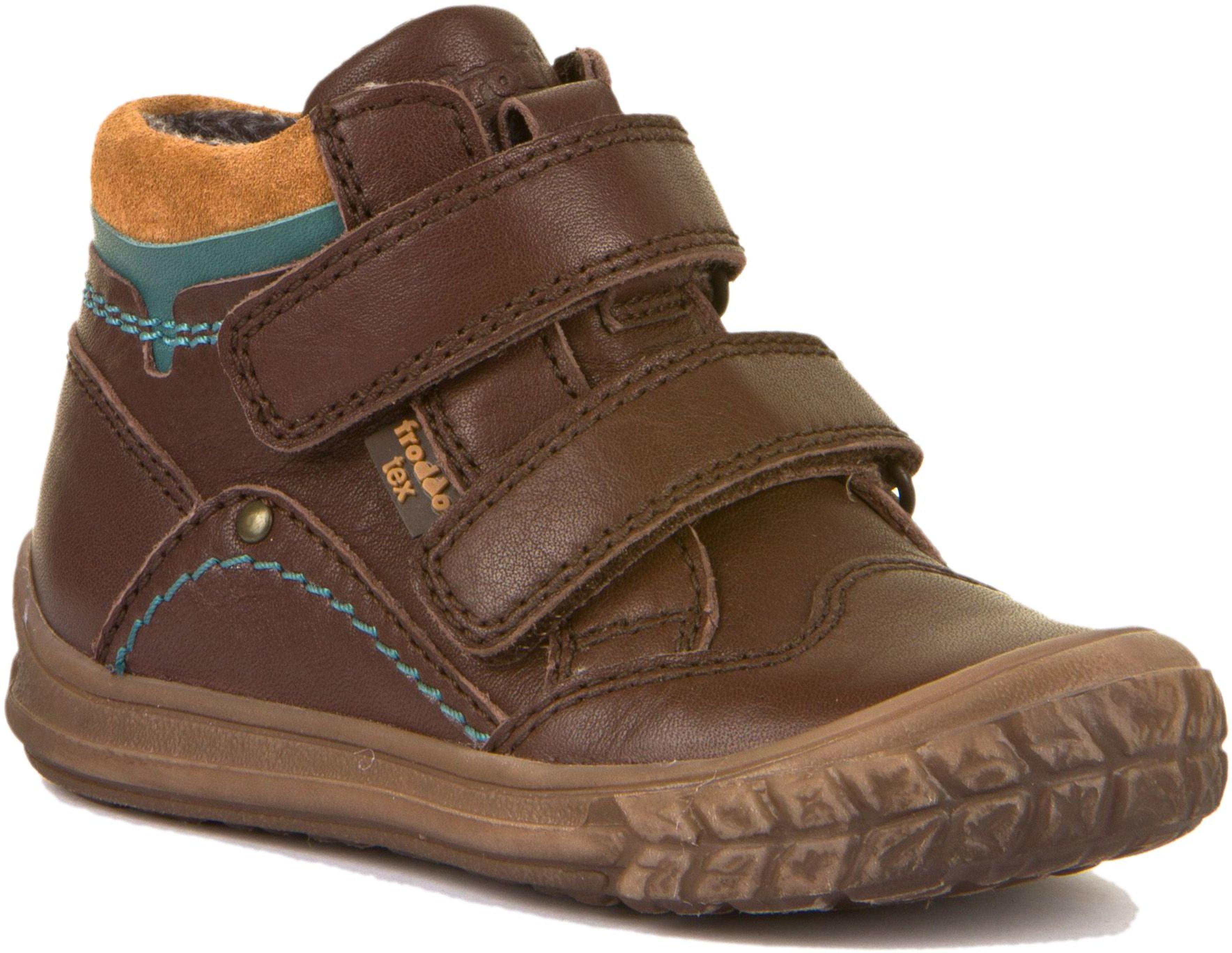 Froddo Tex Ankle Boot N Doppelklett Dunkelbraun
