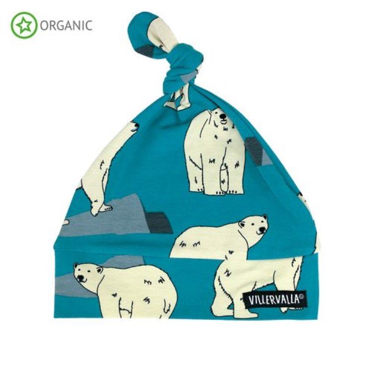 Villervalla Baby Mütze Polarbear