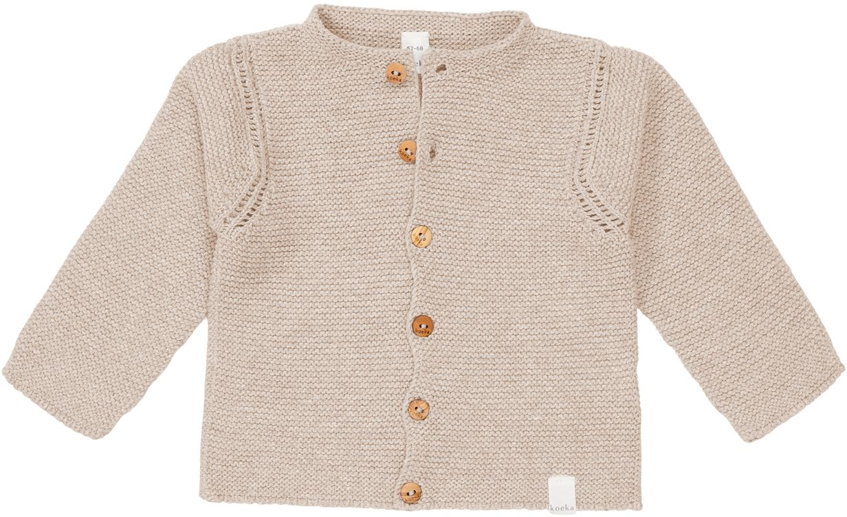 Koeka Cardigan Baby soft clay