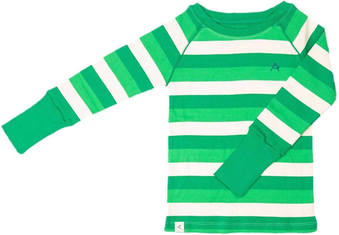 Alba of Denmark Langarmshirt Our Favorite Rib green stripes