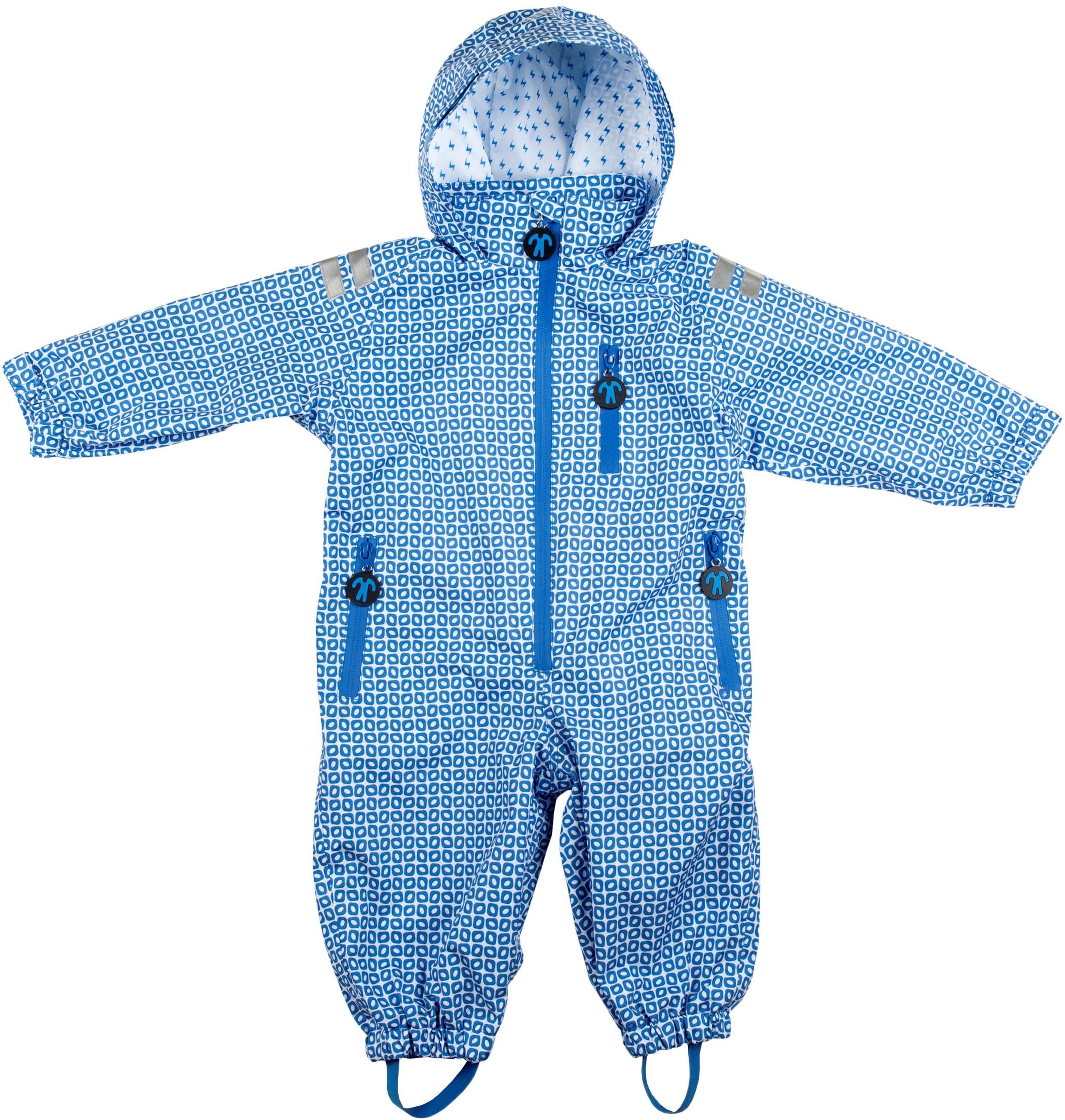 Ducksday Regenanzug FUNKY blue