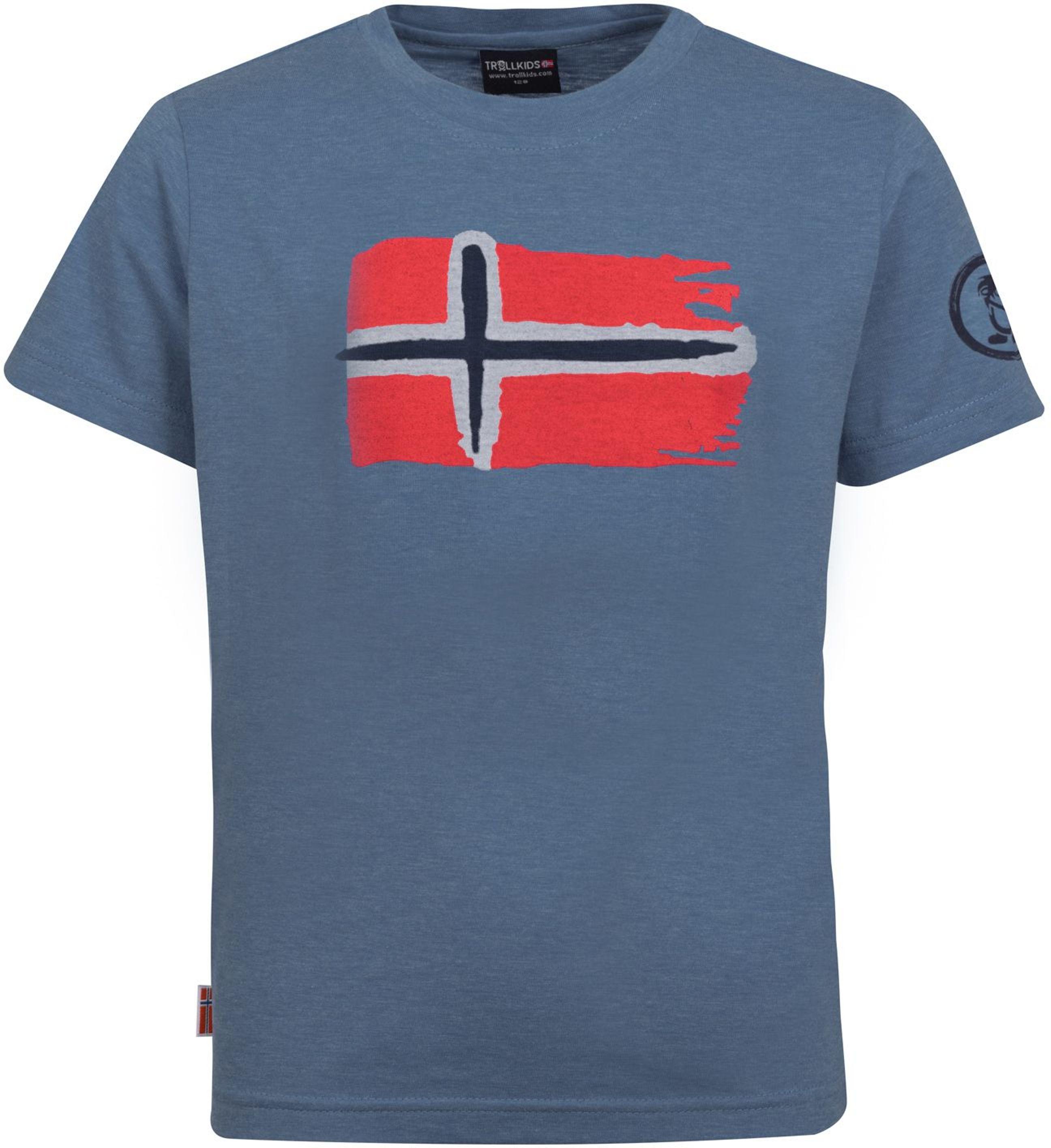 Trollkids Oslo T-Shirt french blue