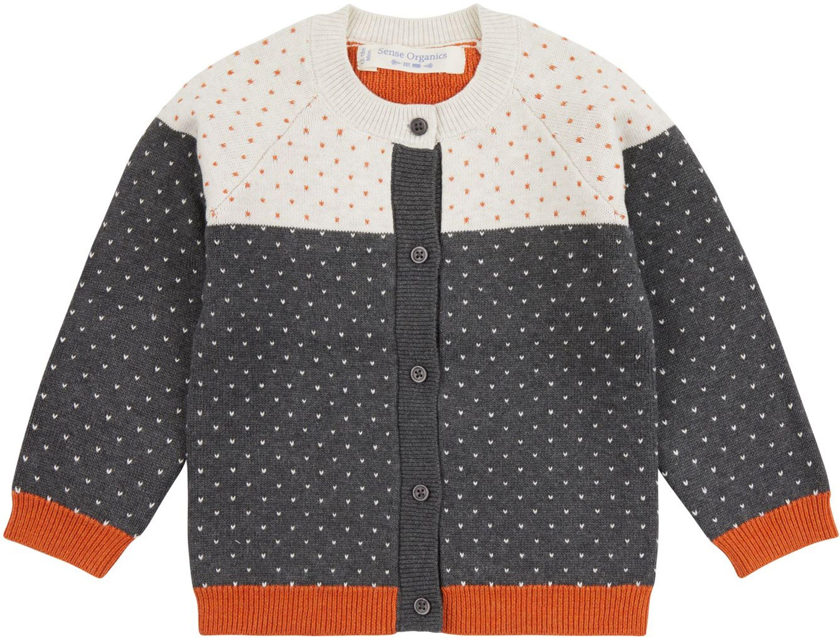 Sense Organic Erin Baby Knitted Cardigan pattern