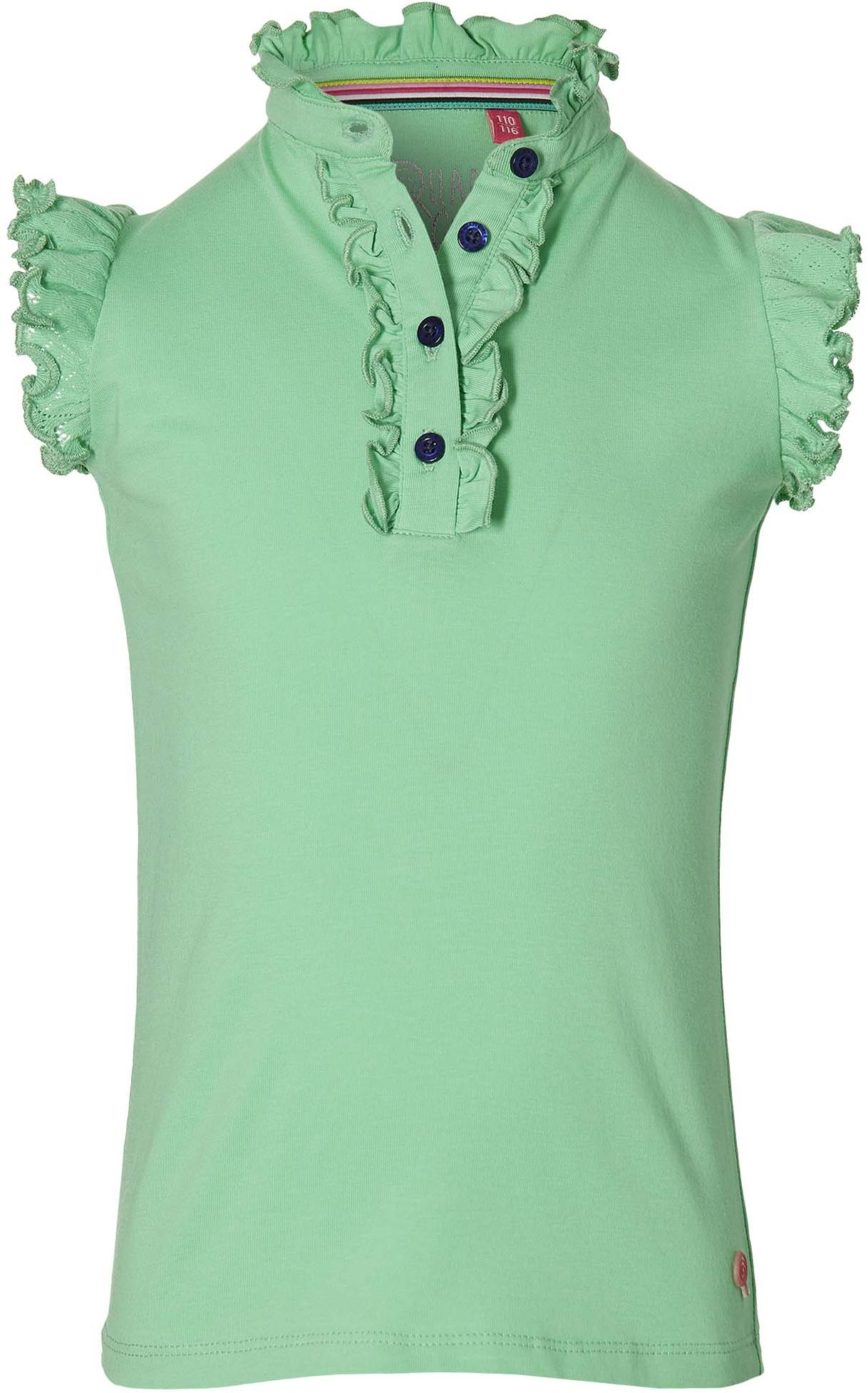 Quapi Girl Kurzarmshirt green