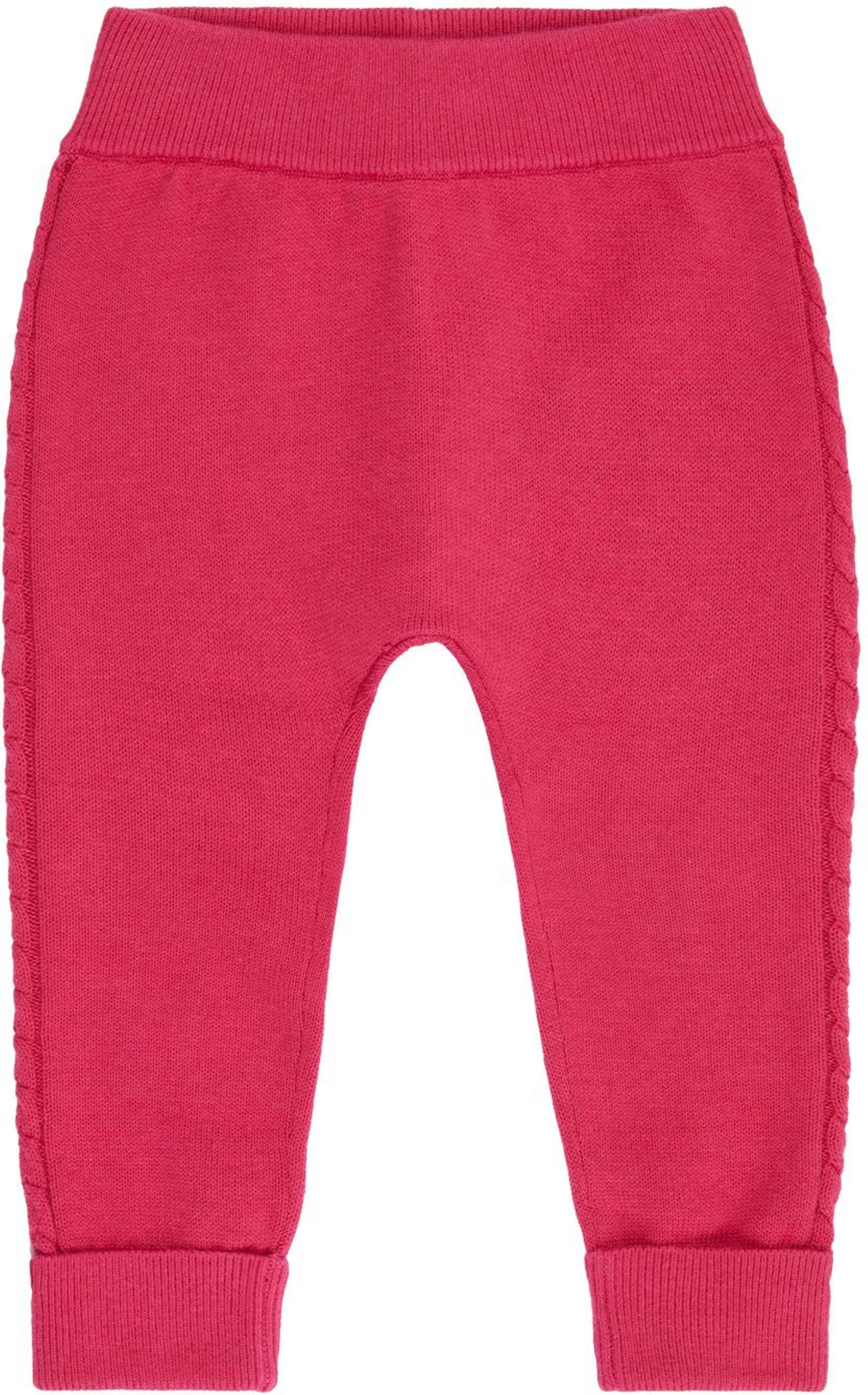 Sense Organic PABLO Baby Knitted Leggings pink