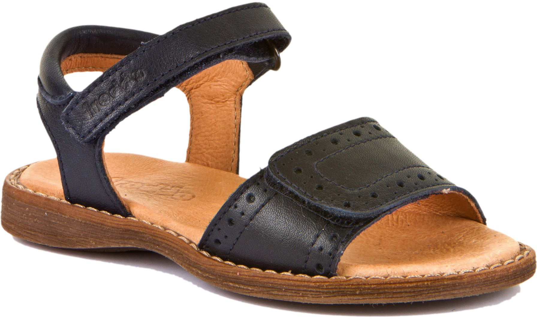 Froddo Mädchen Sandale Classic Dunkelblau
