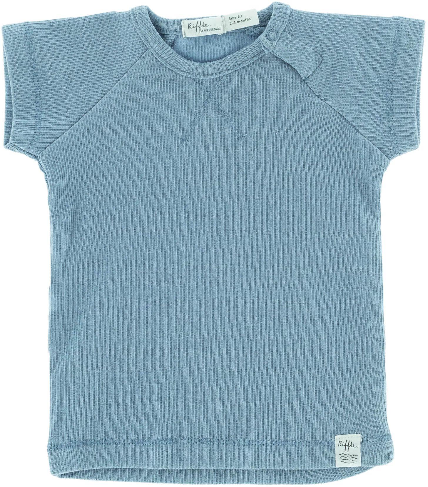 Riffle Amsterdam Kurzarmshirt blue