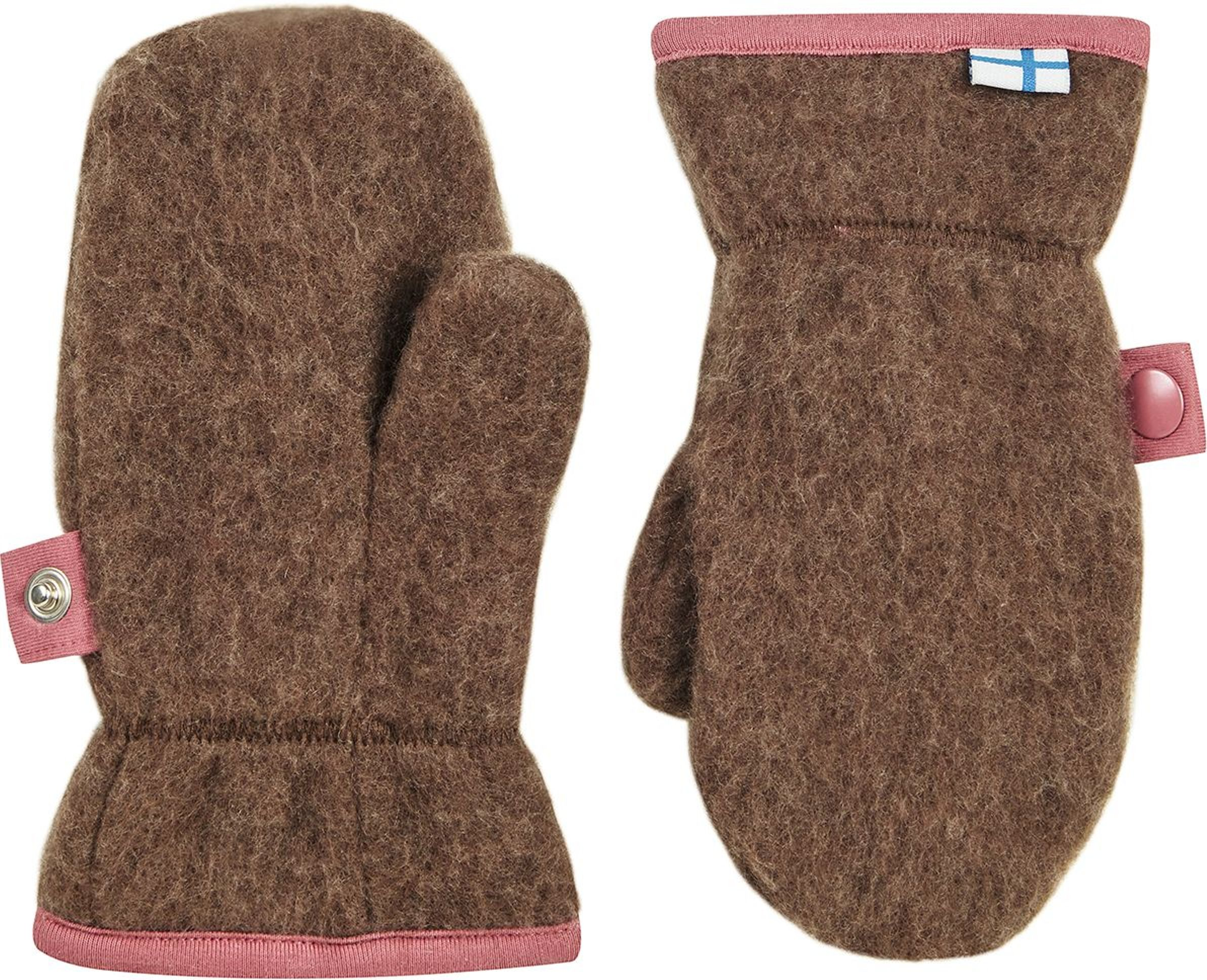 Finkid Fausthandschuh NUPUJUSSI WOOL cocoa