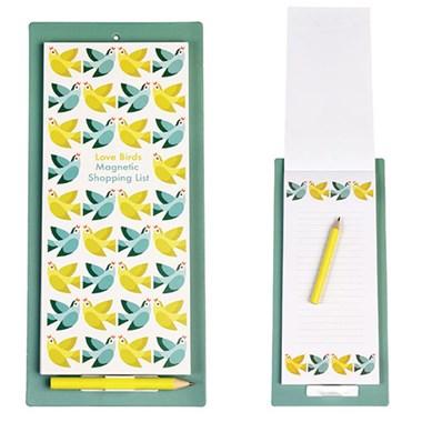 Rex London Notizblock magnetisch Love Birds