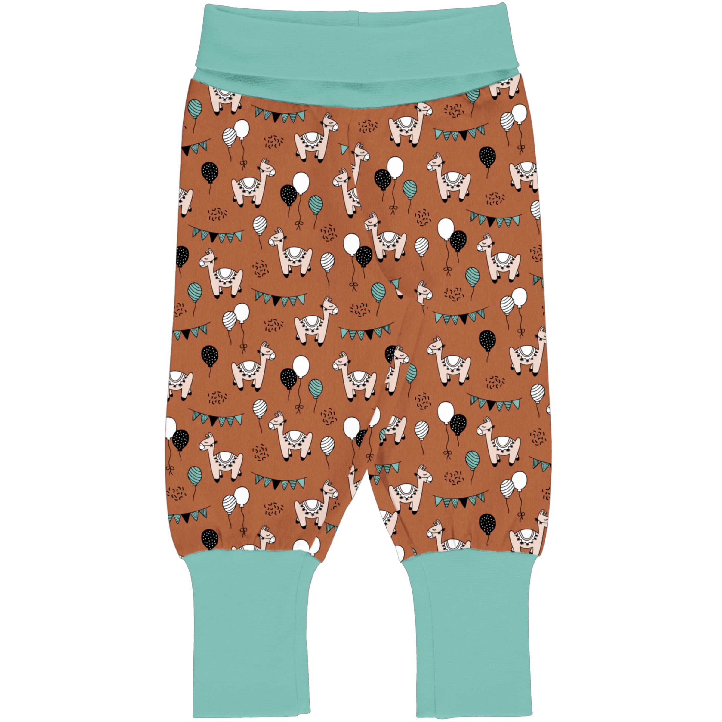 Maxomorra Baby Hose CAMEL PARTY