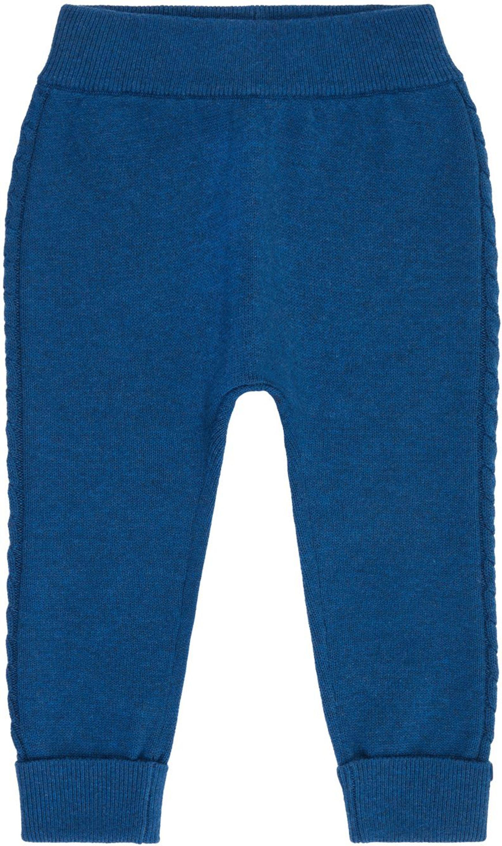 Sense Organic PABLO Baby Knitted Leggings blue