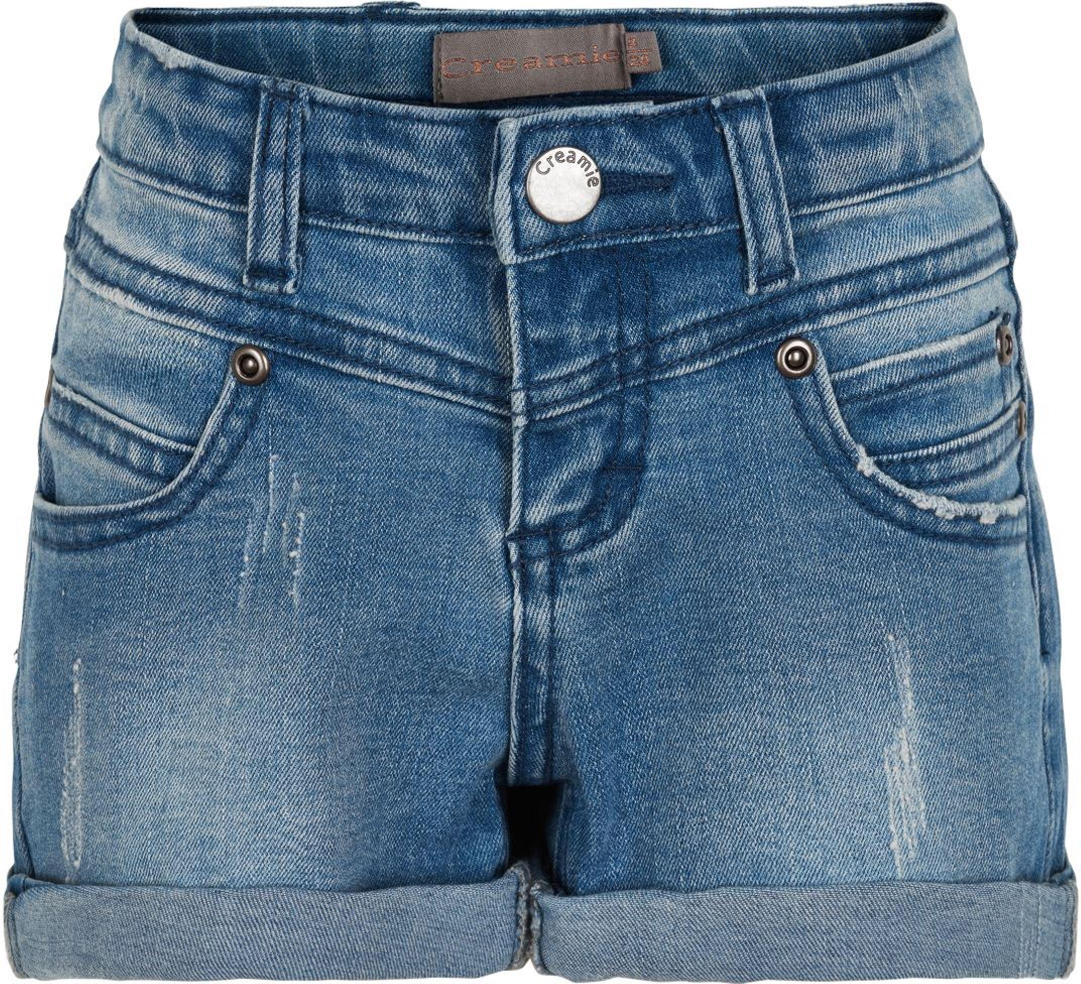 Creamie Shorts Denim light blue