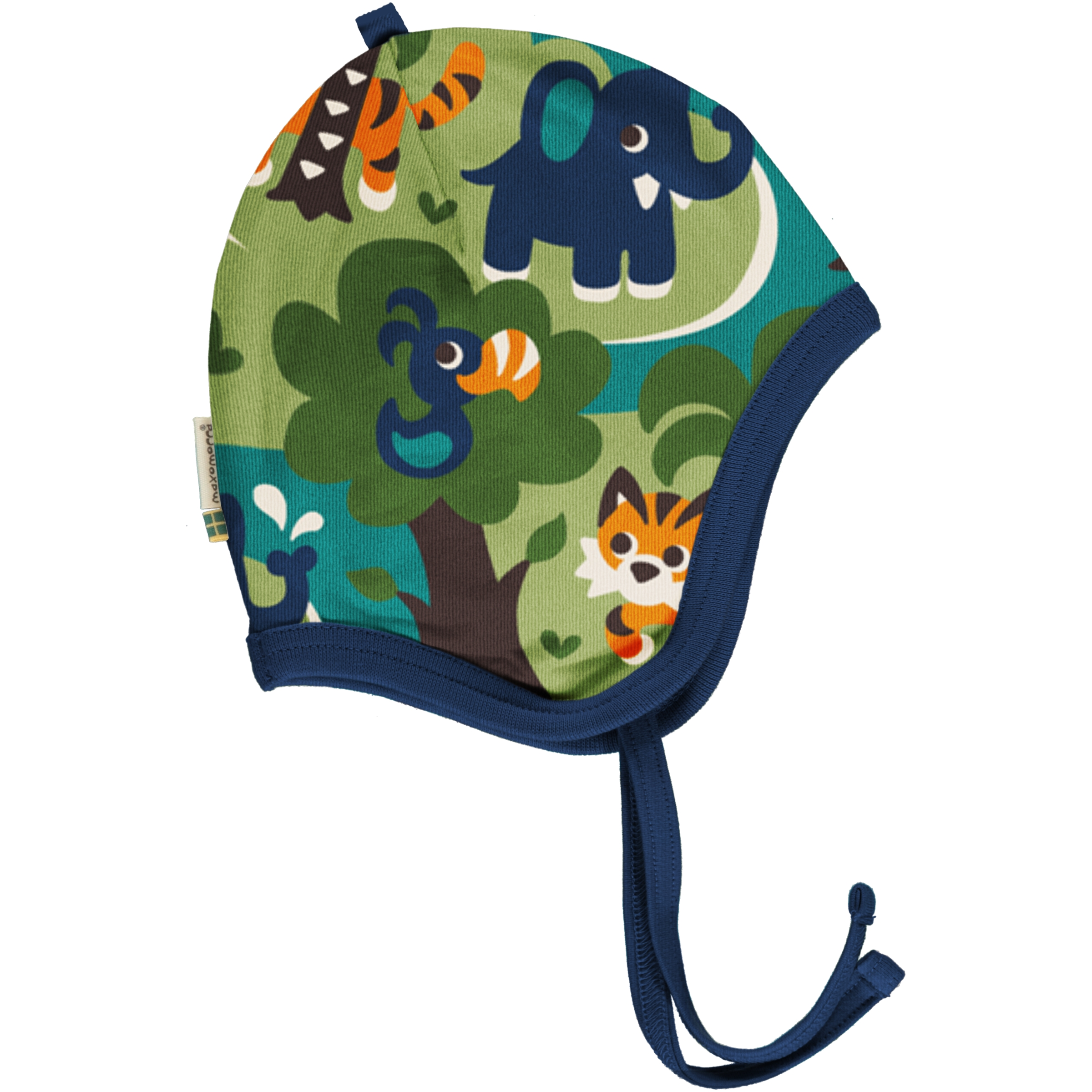 Maxomorra Baby Hat Helmet JUNGLE 48/50