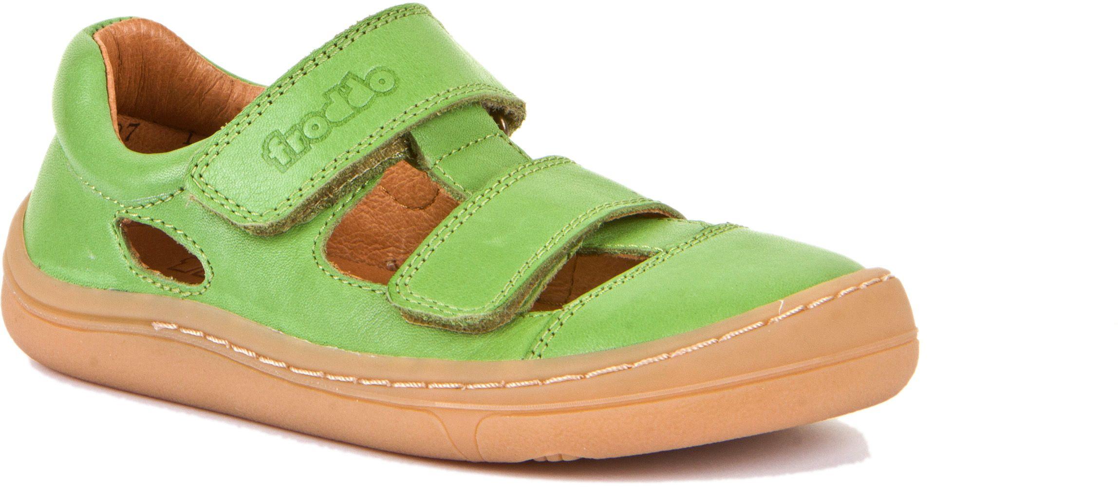 Froddo Barfuß Sandale Doppelklett Olive