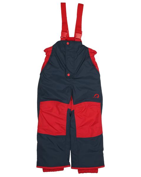 Finkid Schneehose Toope navy/red