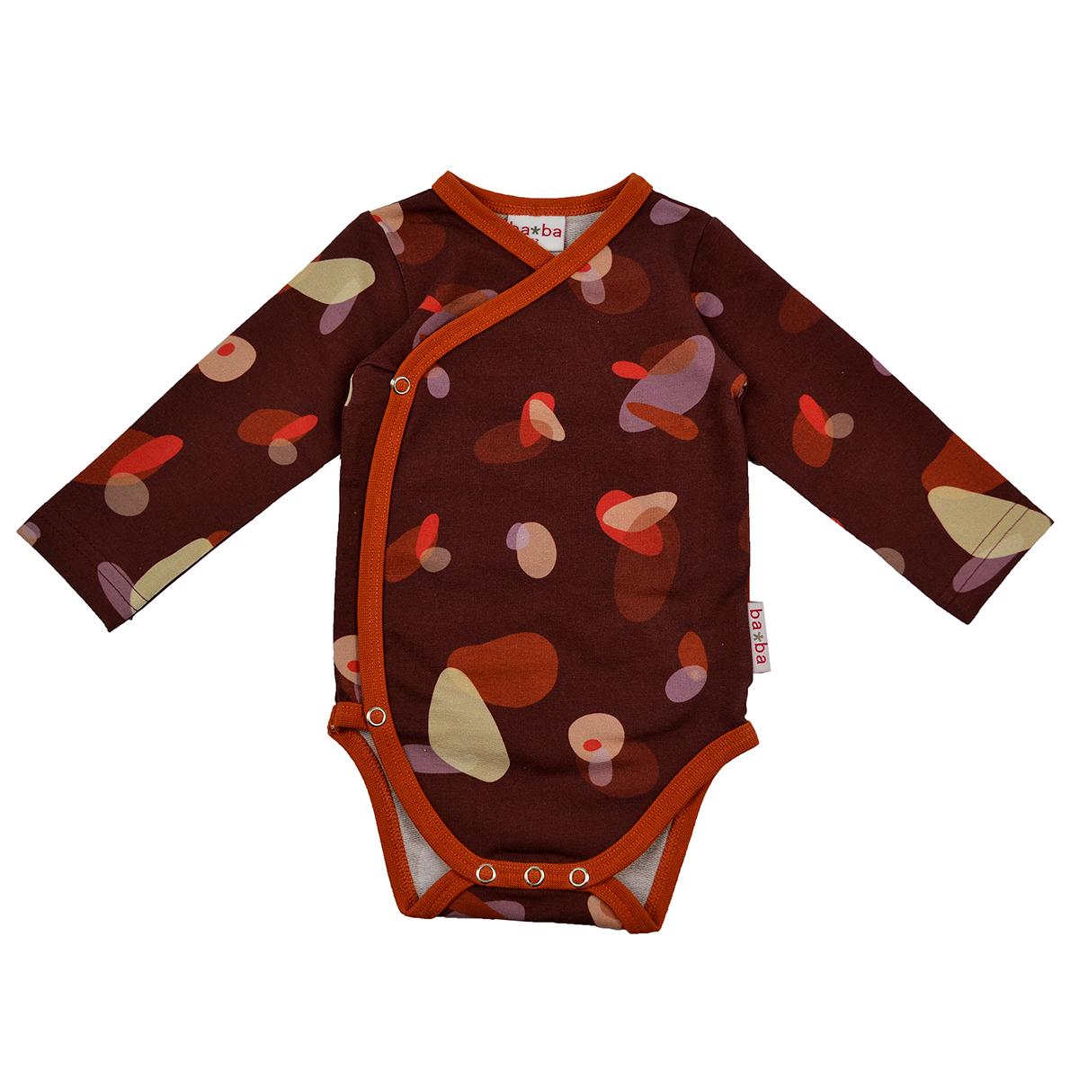Baba Kidswear Baby Wickelbody Langarm Boulders