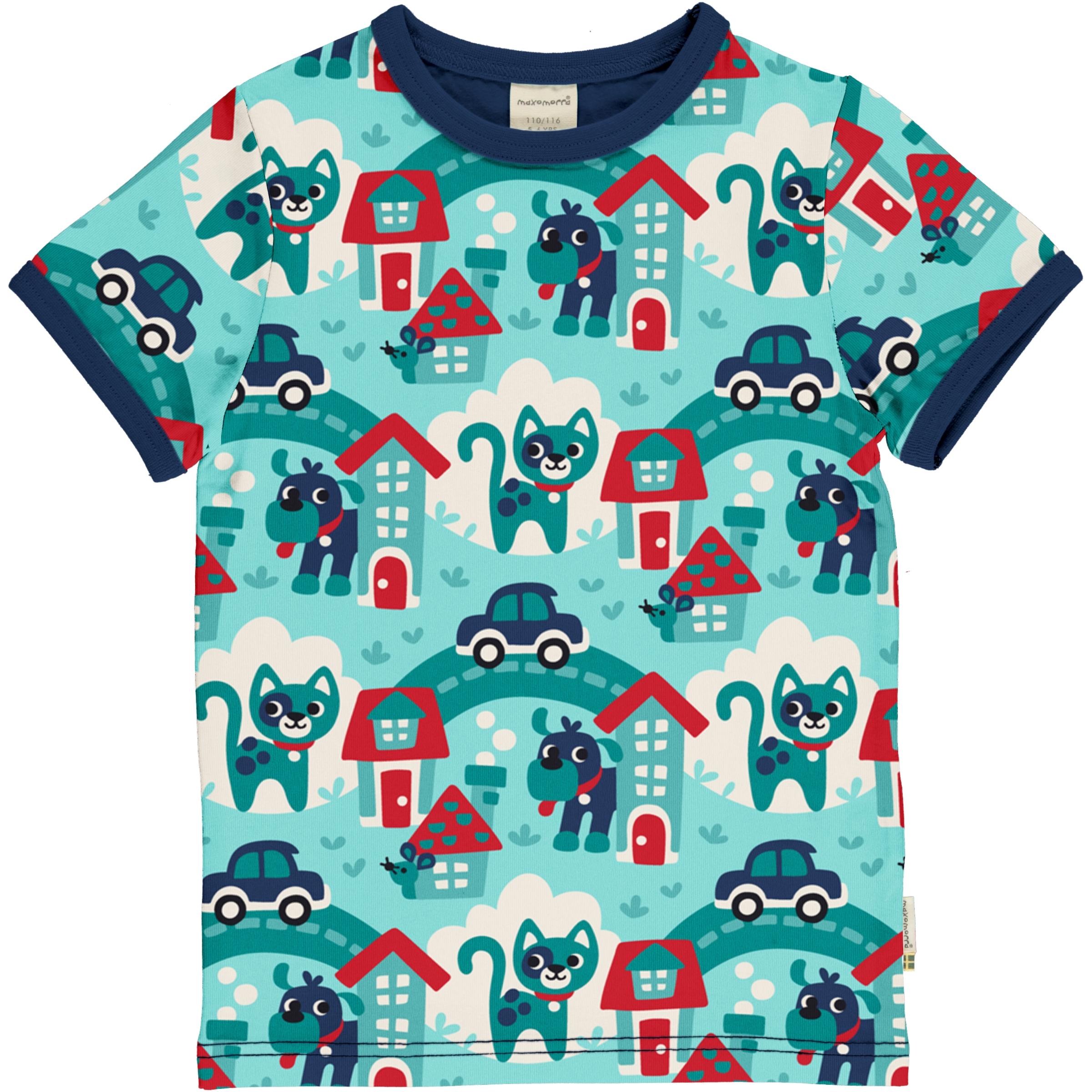 Maxomorra T-Shirt TOWN 098/104