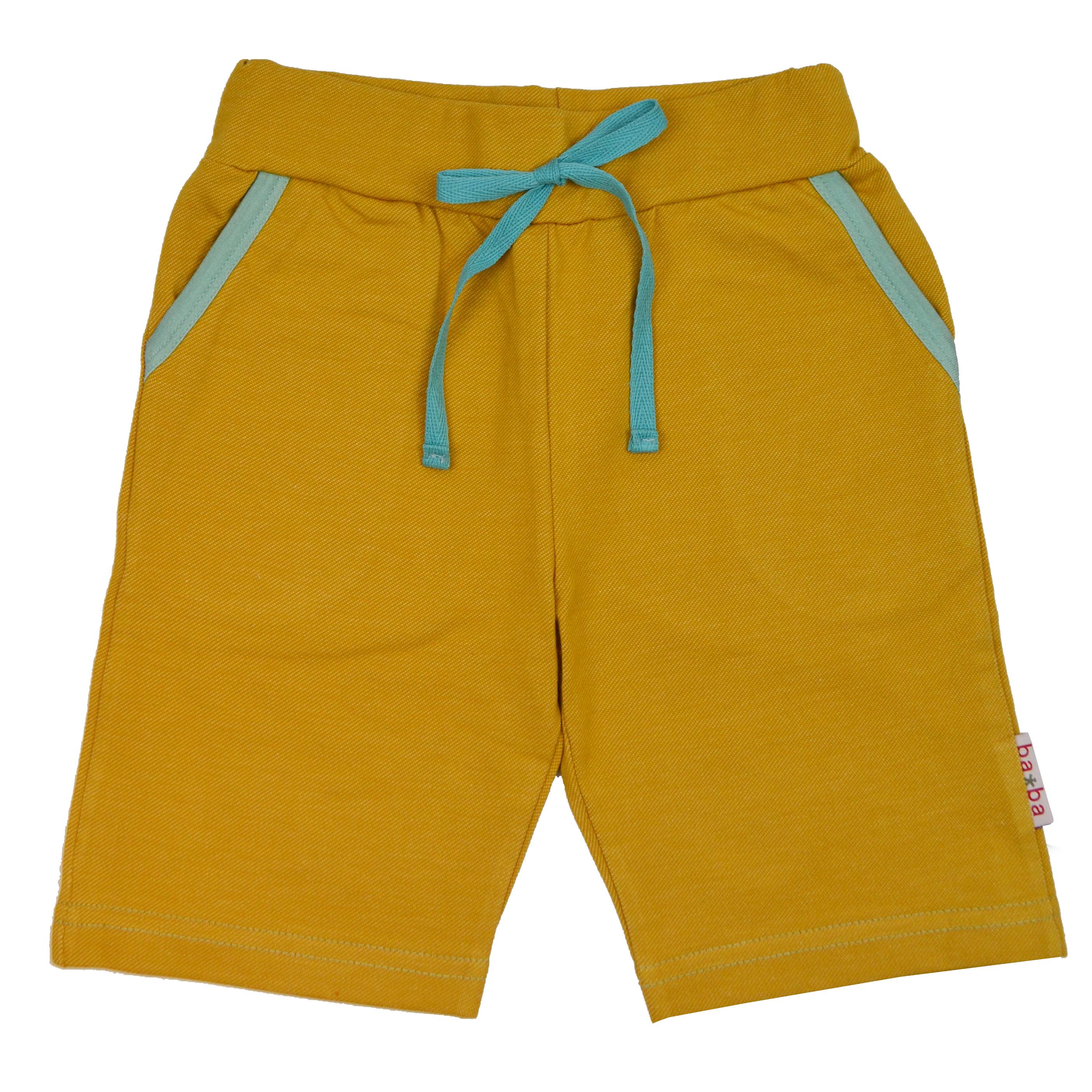 Baba Kidswear Boy Shorts Chai Tea