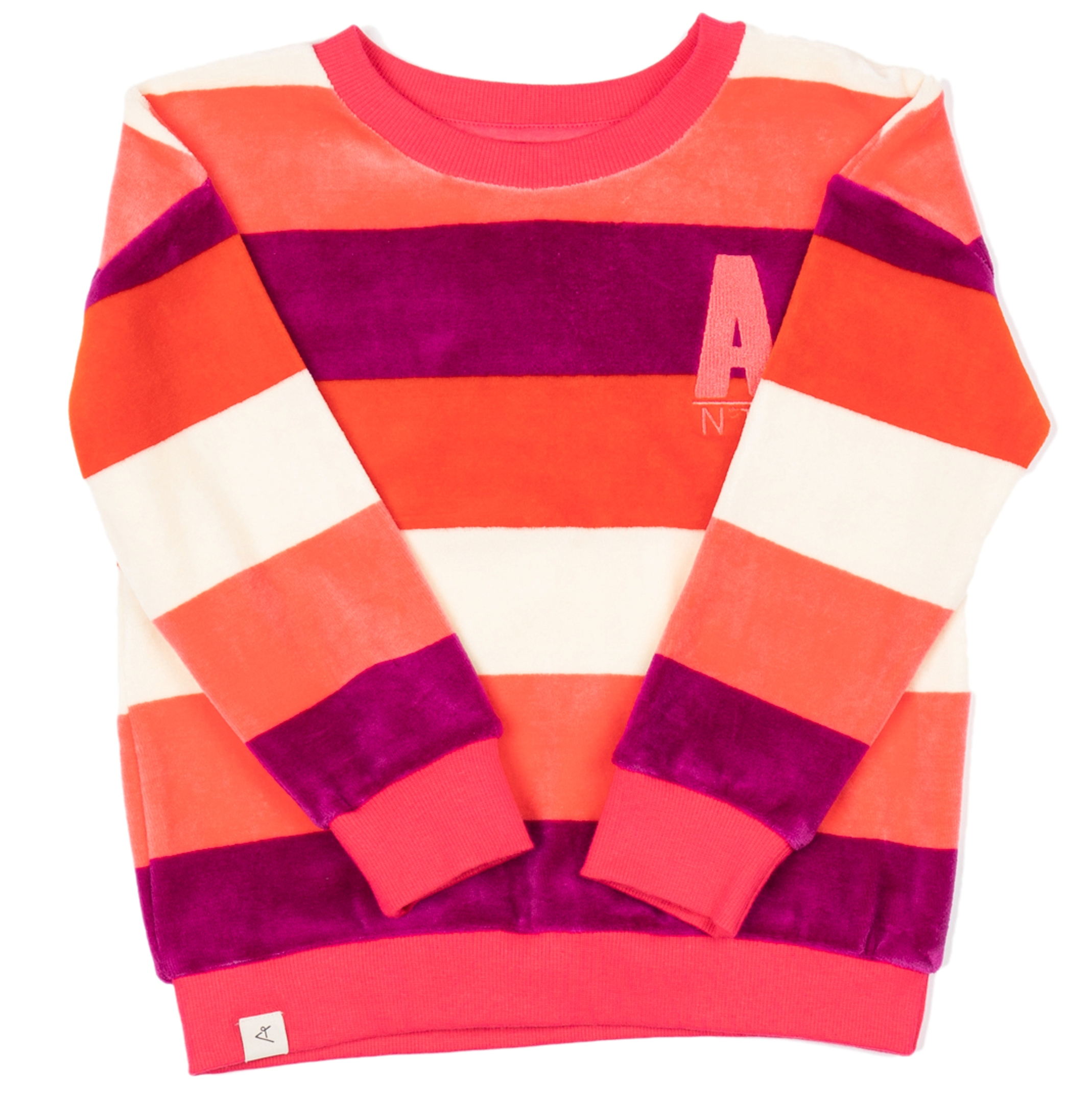 AlbaBaby Girl Pullover My Favorite Sweat Wild Aster Love