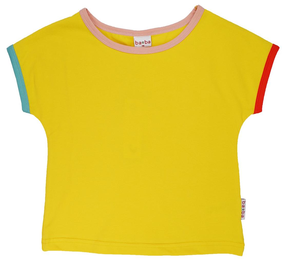 Baba Girl T-Shirt Multicolor Lemon