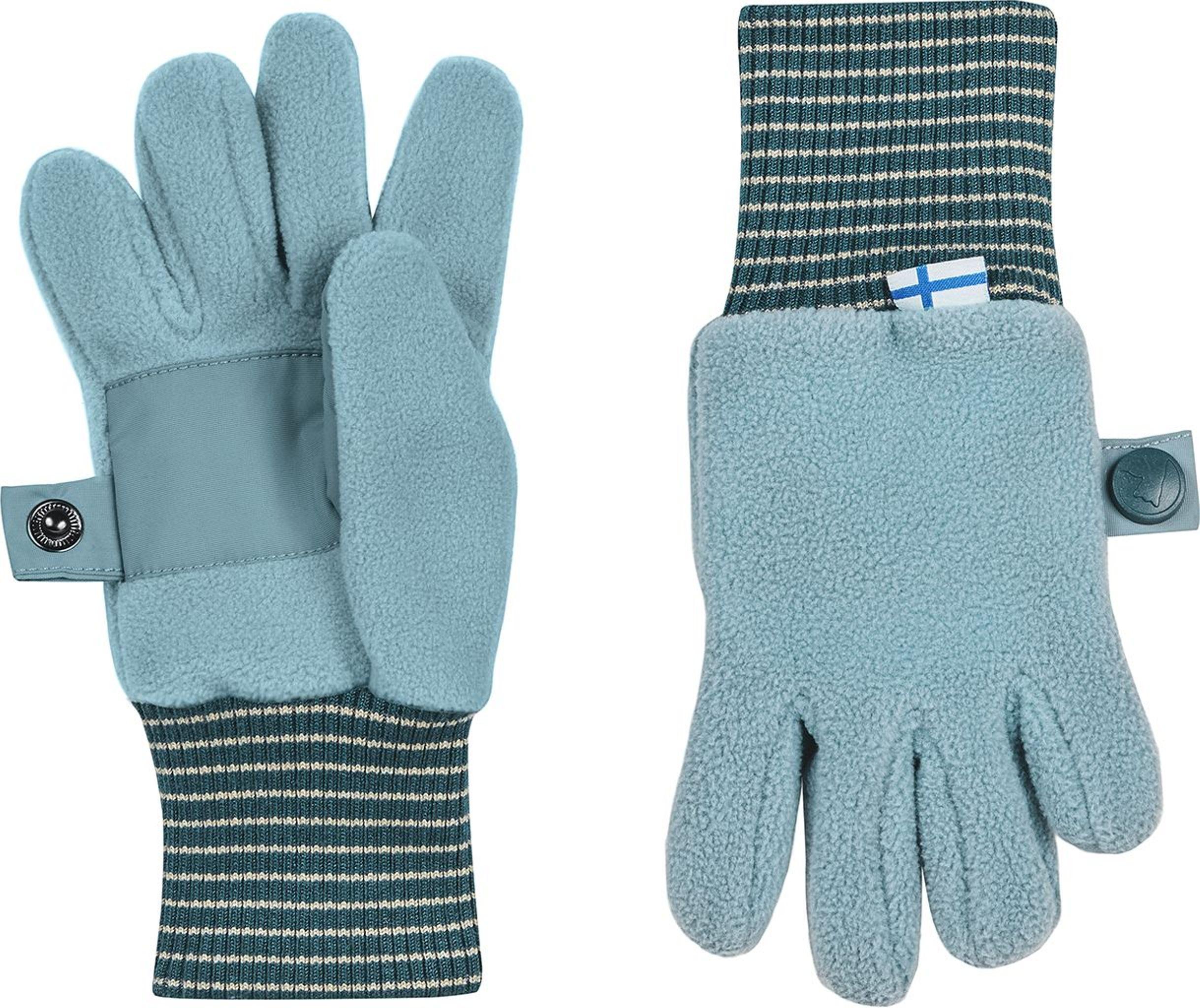 Finkid Fingerhandschuh Fleece SORMIKAS smoke blue