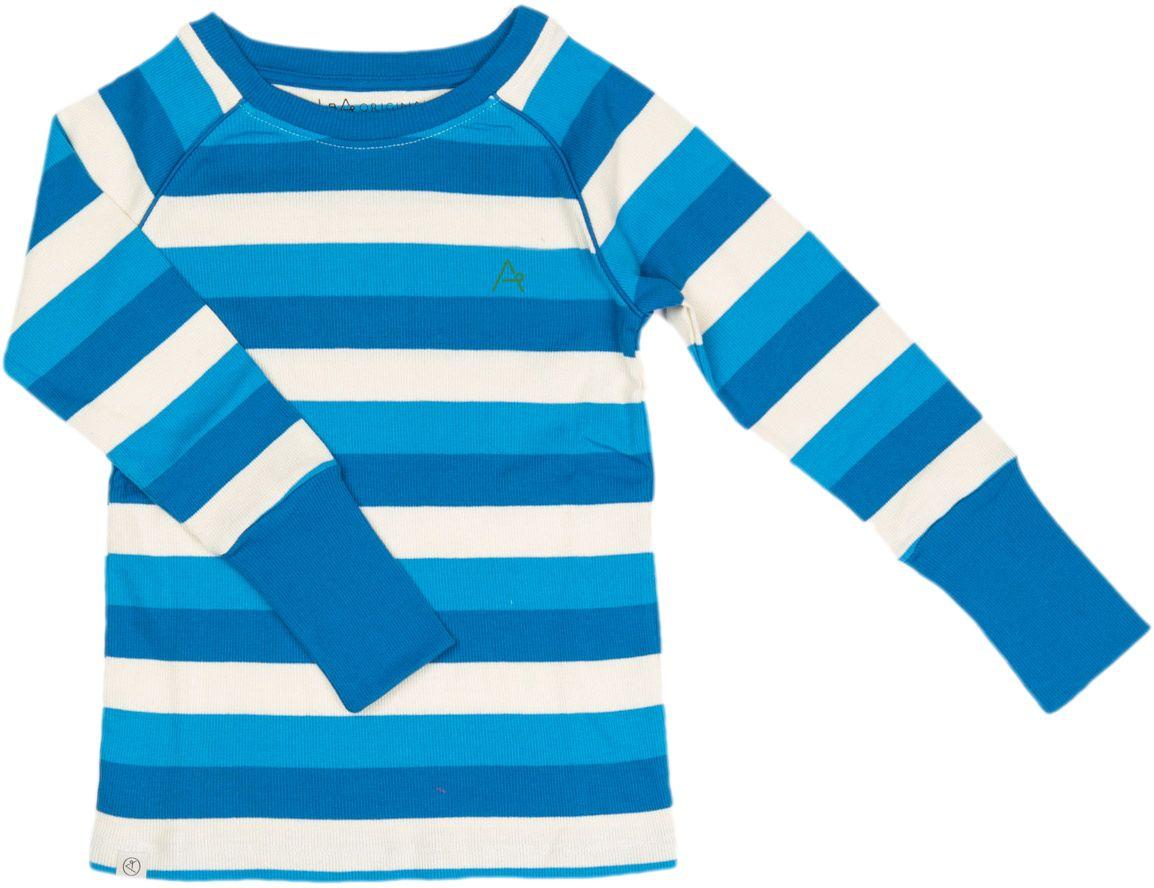 Alba of Denmark Langarmshirt Our Favorite Rib blue stripes