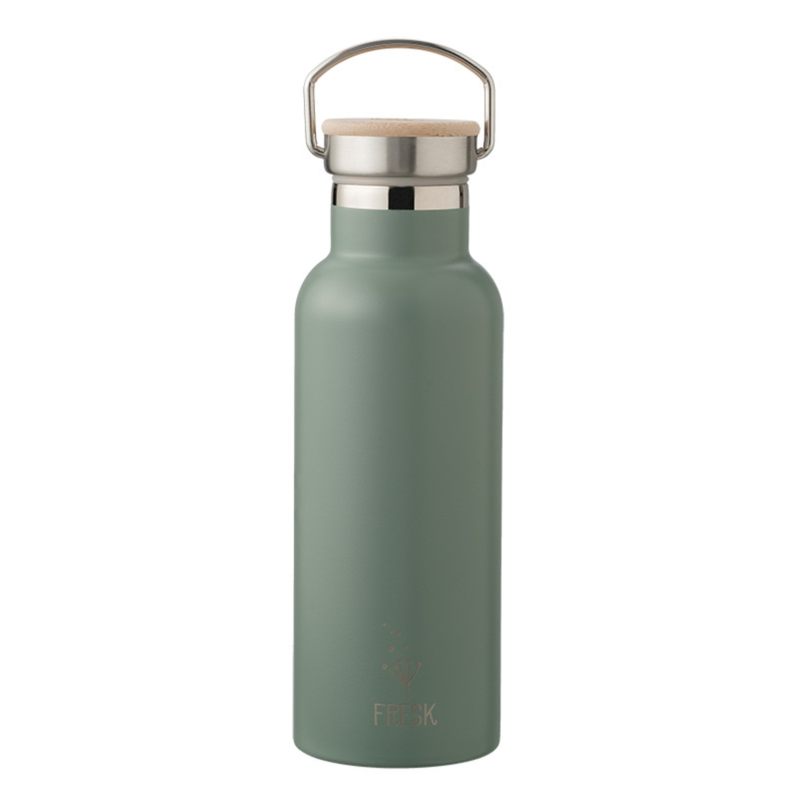 Fresk Thermosflasche Edelstahl 500ml green