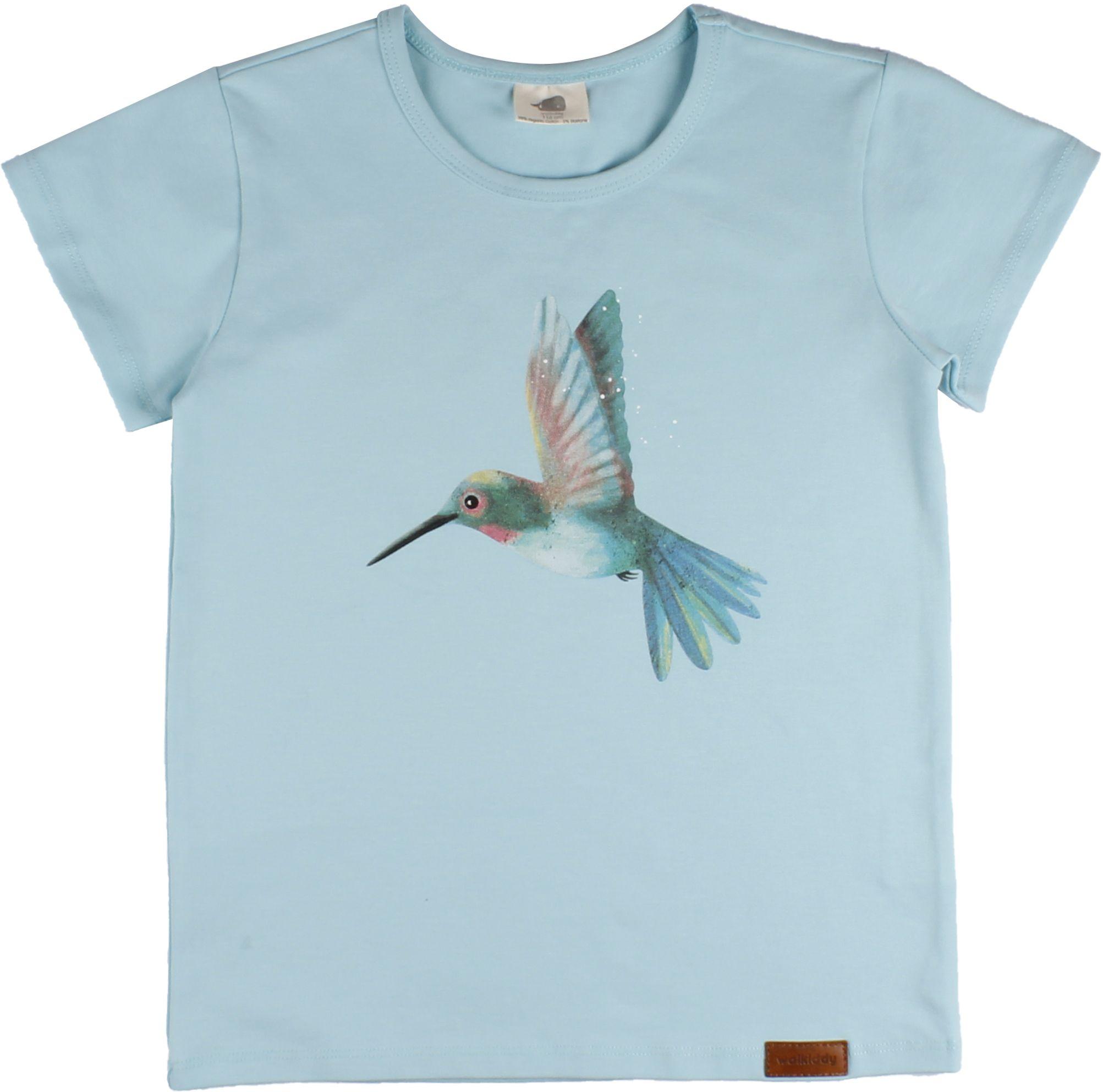 Walkiddy Baby Kurzarmshirt Hummingbirds