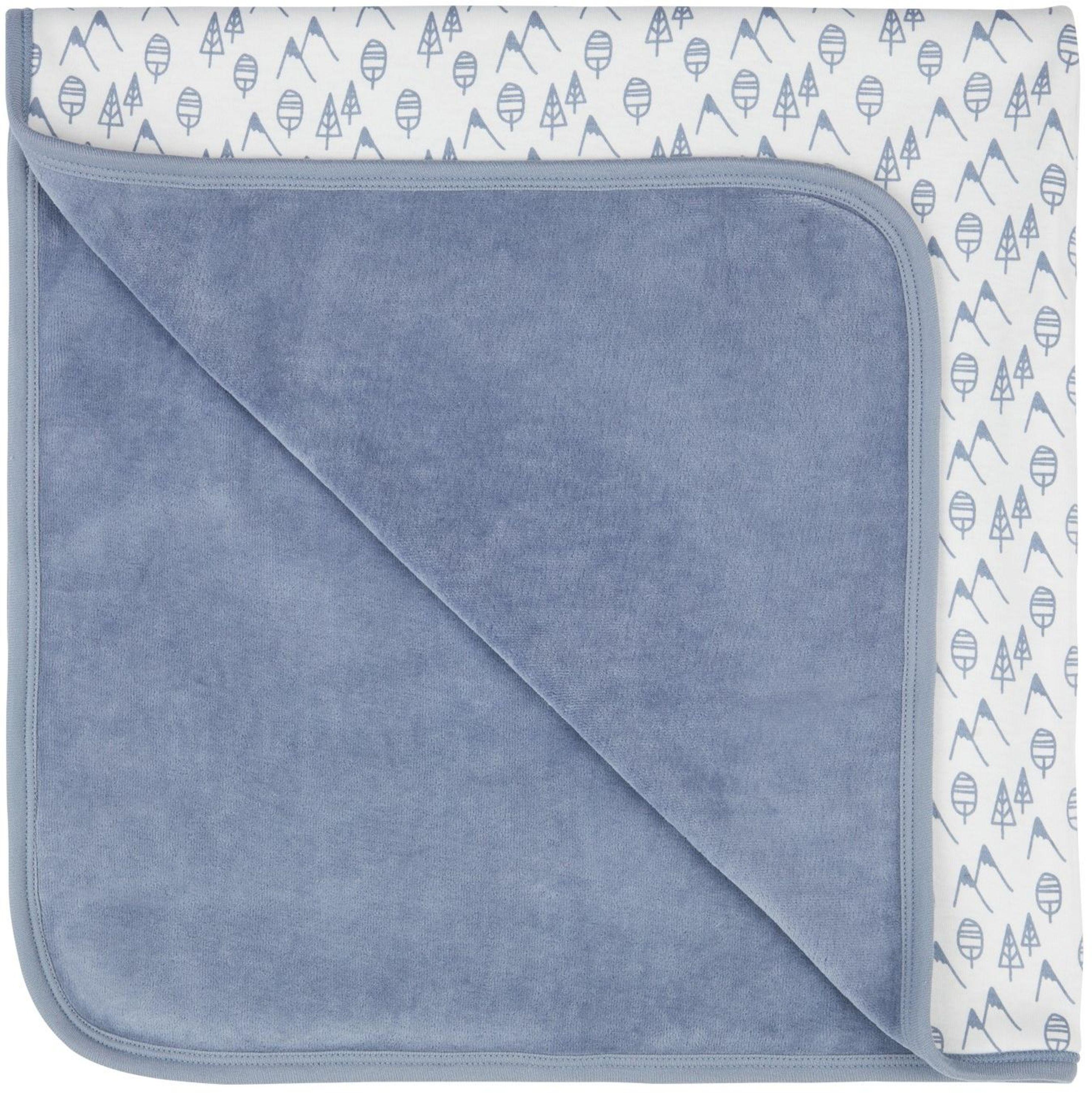 Sense Organic SITA Baby Blanket blue