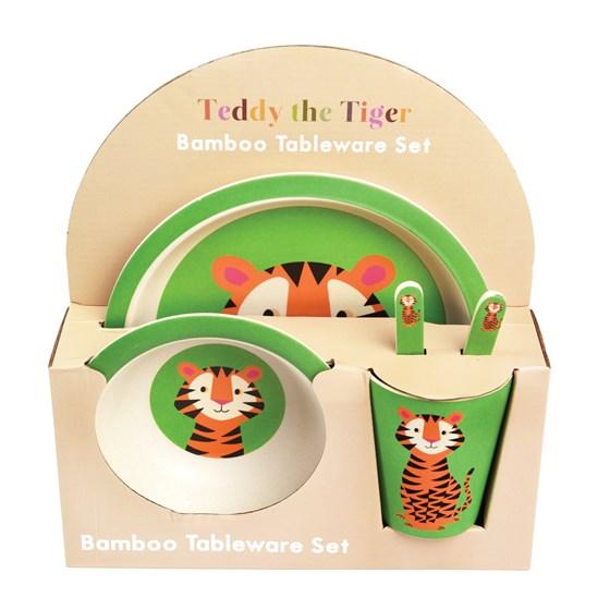 Rex London Geschirrset Bambus Tiger