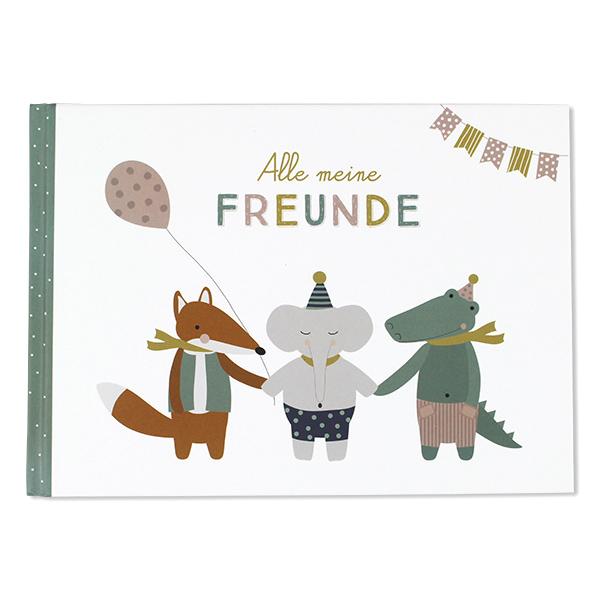"Ava&Yves Freundebuch ""Alle meine Freunde"""