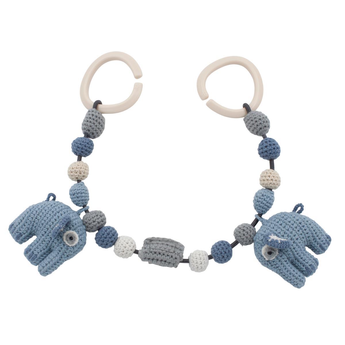 Sebra Wagenkette Elefant powder blue 53 cm