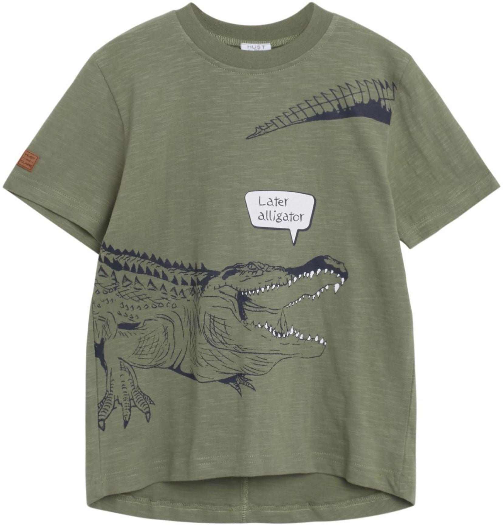 Hust & Claire Boy T-Shirt Alligator sea spray