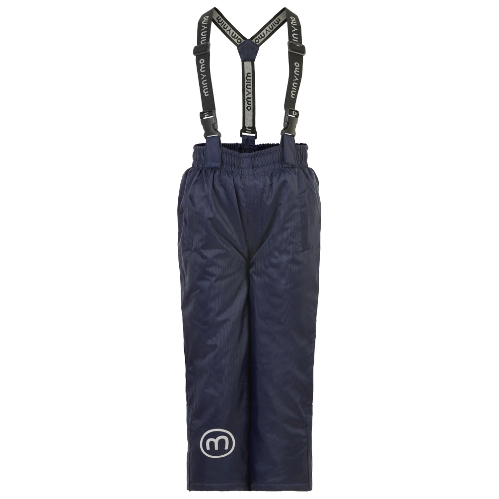 Minymo Skihose Oxford solid navy