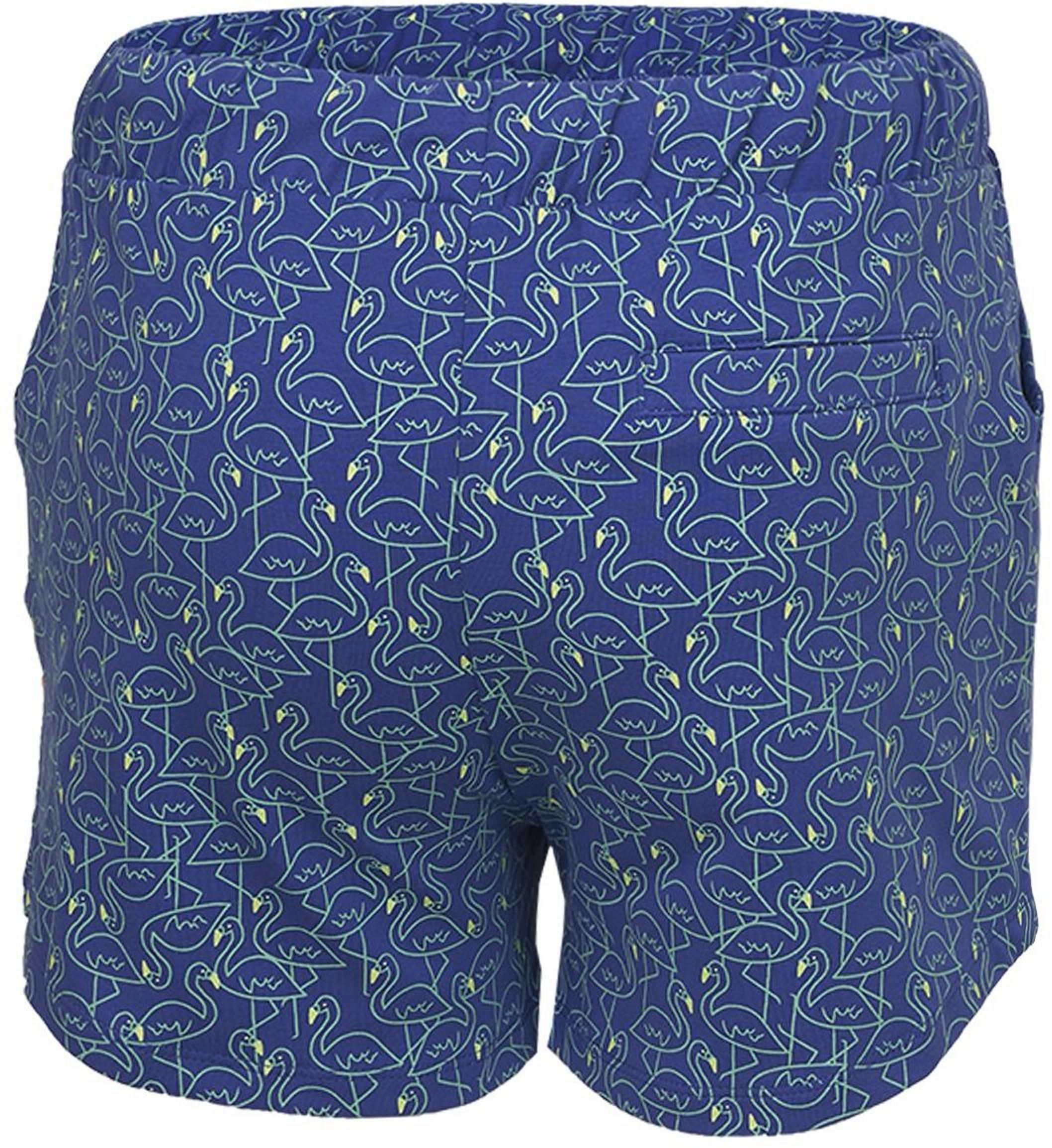 Someone Girl Shorts Flamingo kobalt