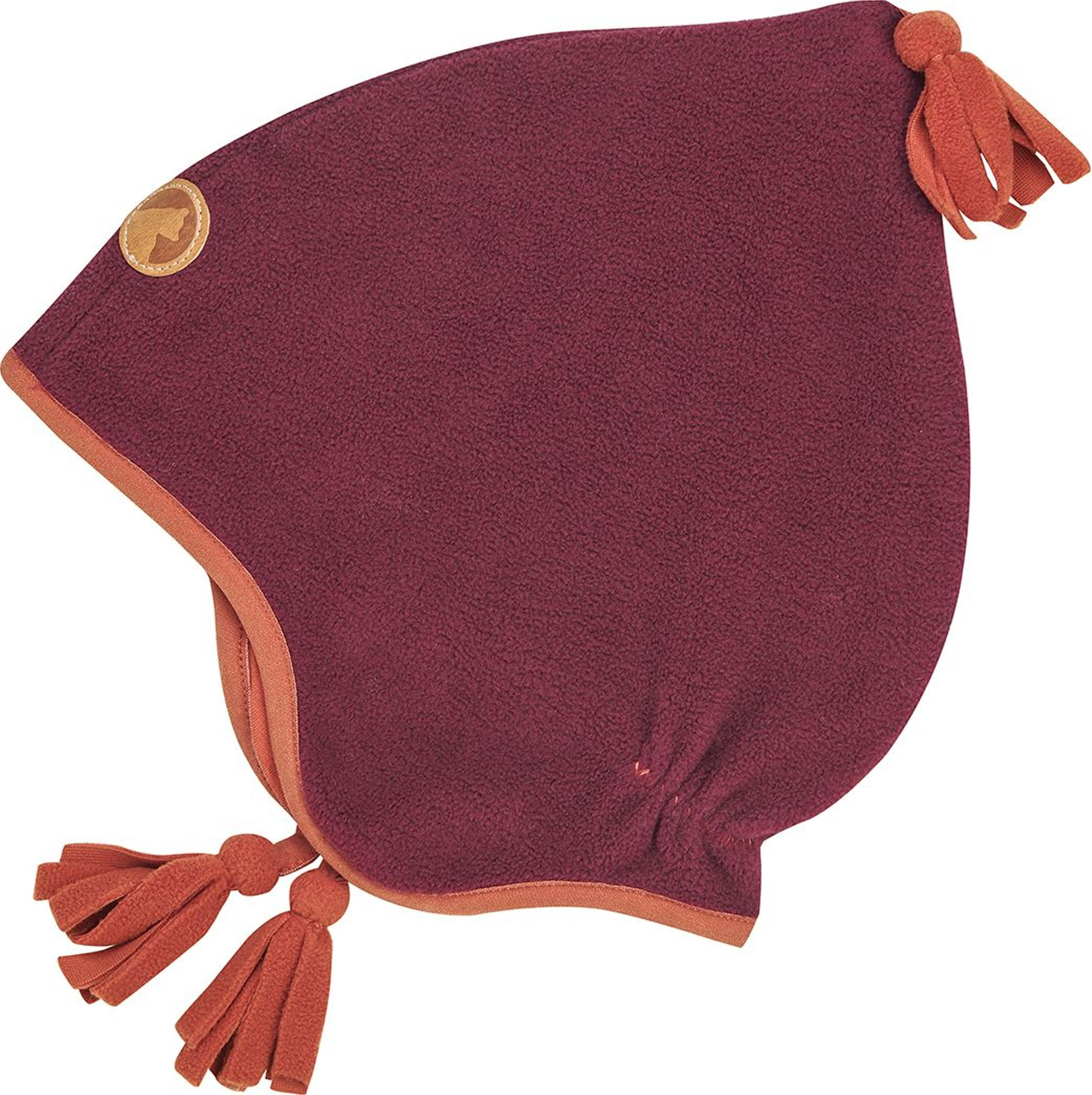 Finkid Fleecemütze PIPO beet red