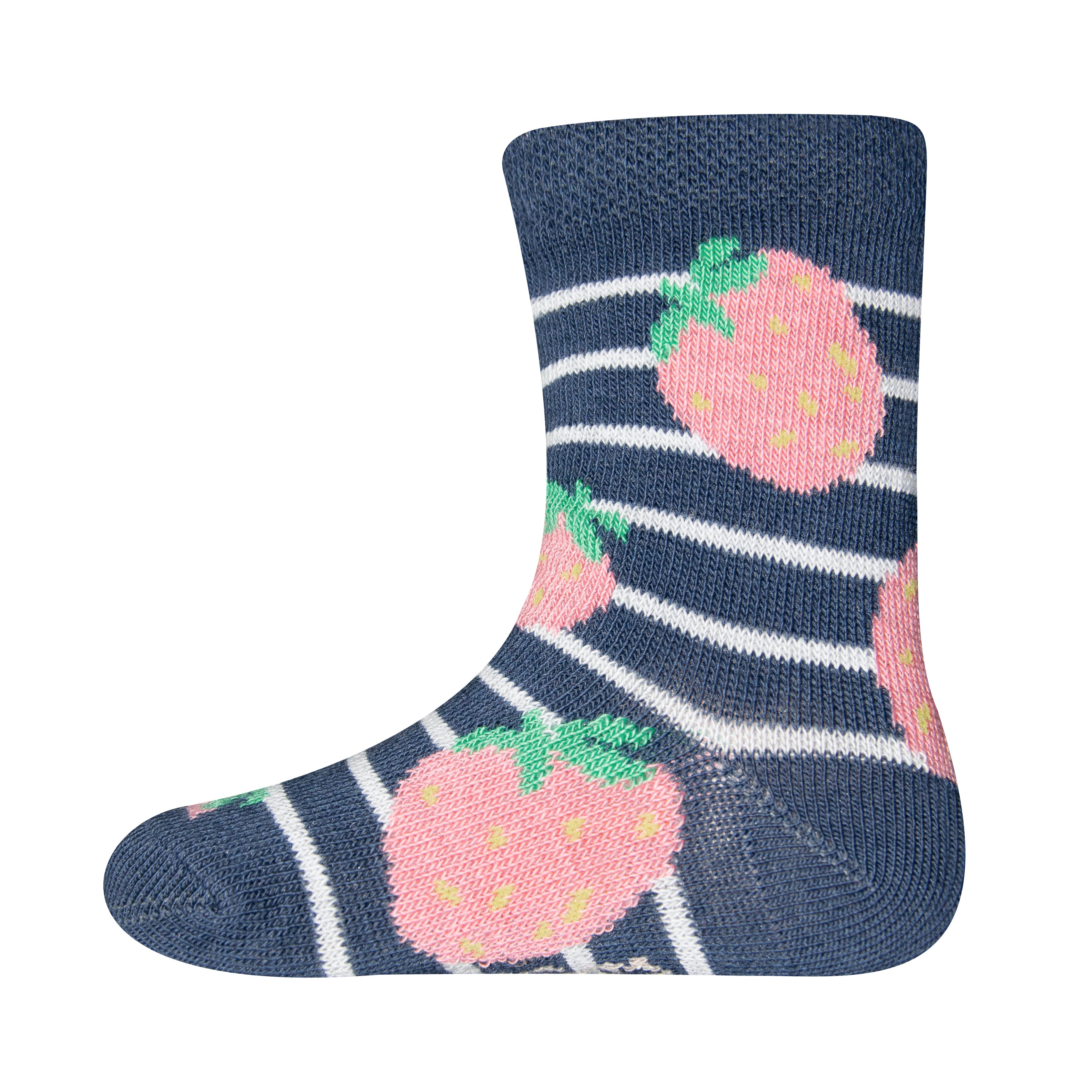 Ewers Socken Erdbeeren