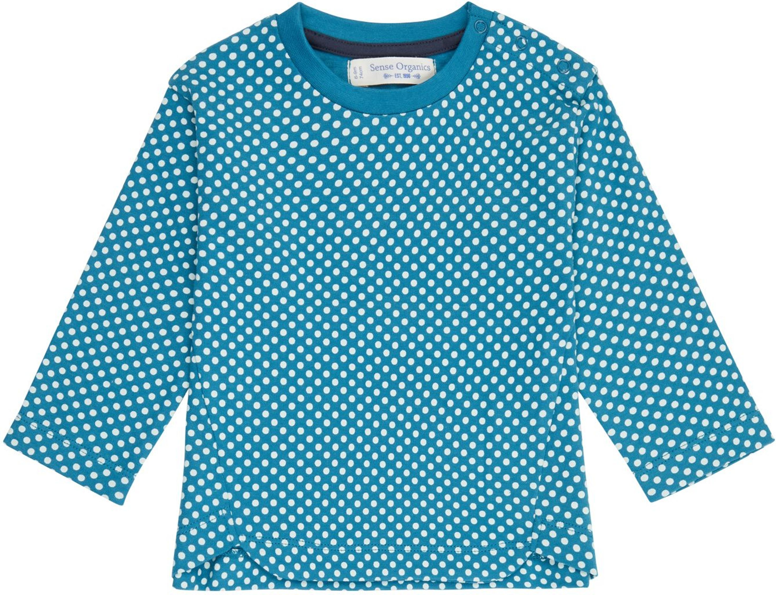 Sense Organic KLARA Baby Shirt L/S AOP Polka Dots