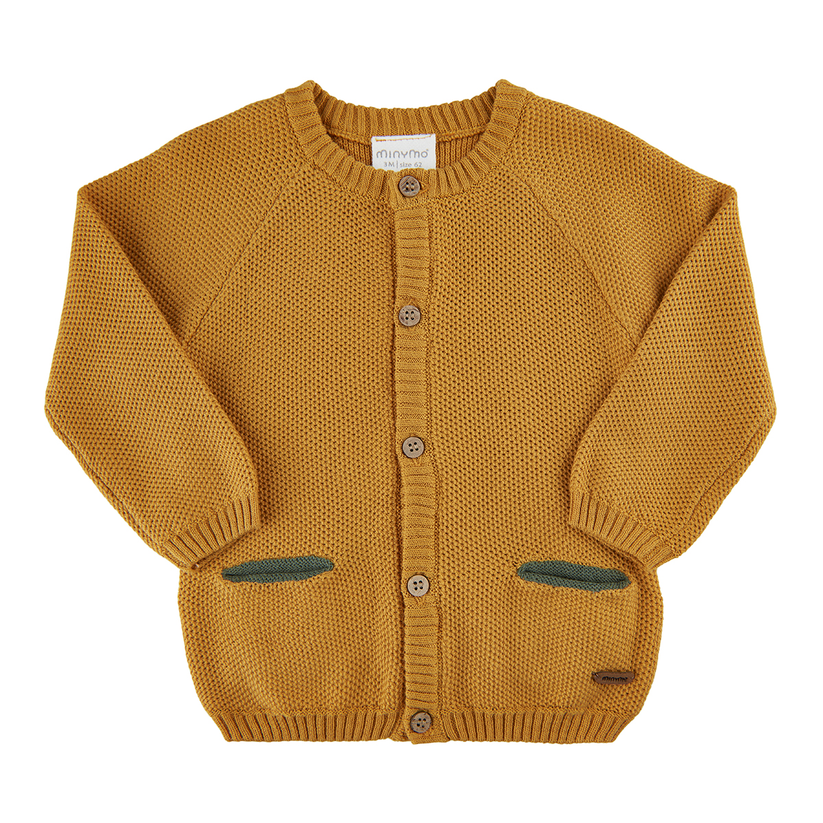 Minymo Cardigan Knit gold