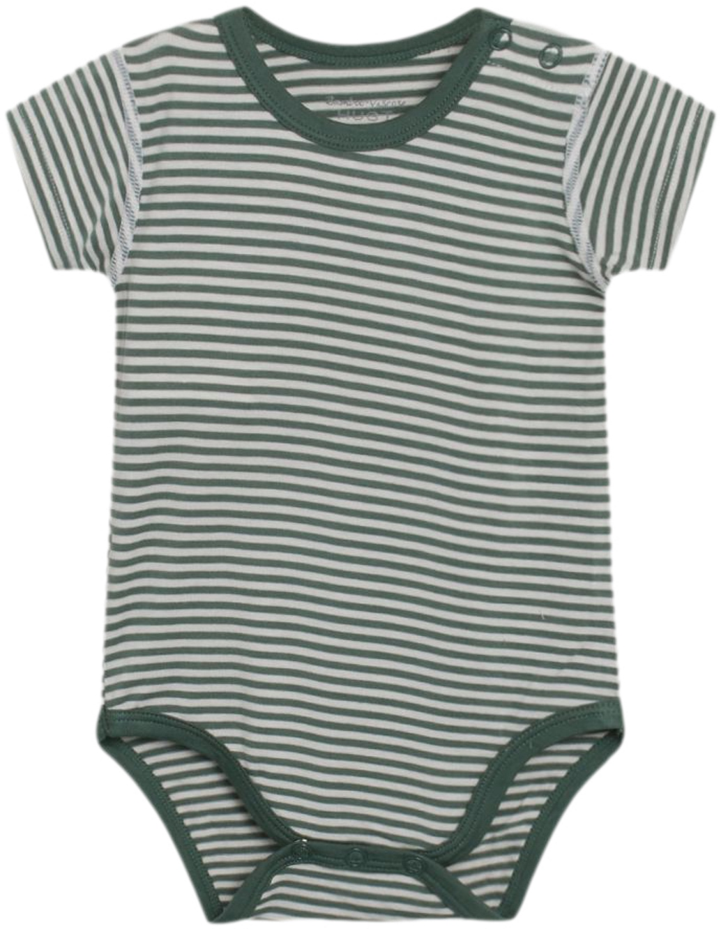 Hust & Claire Body kurzarm Bambus green