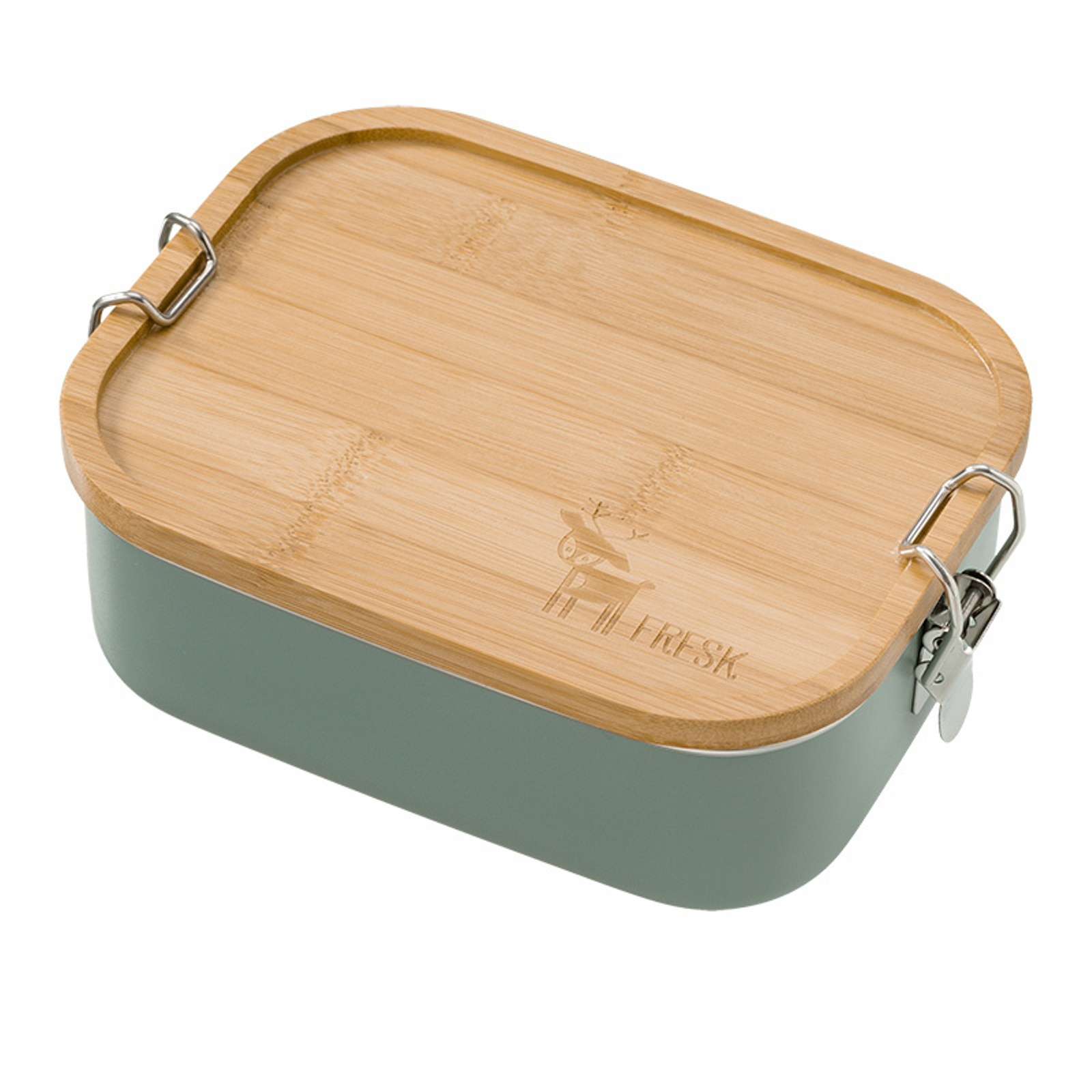 Fresk Lunch Box Uni green Deer