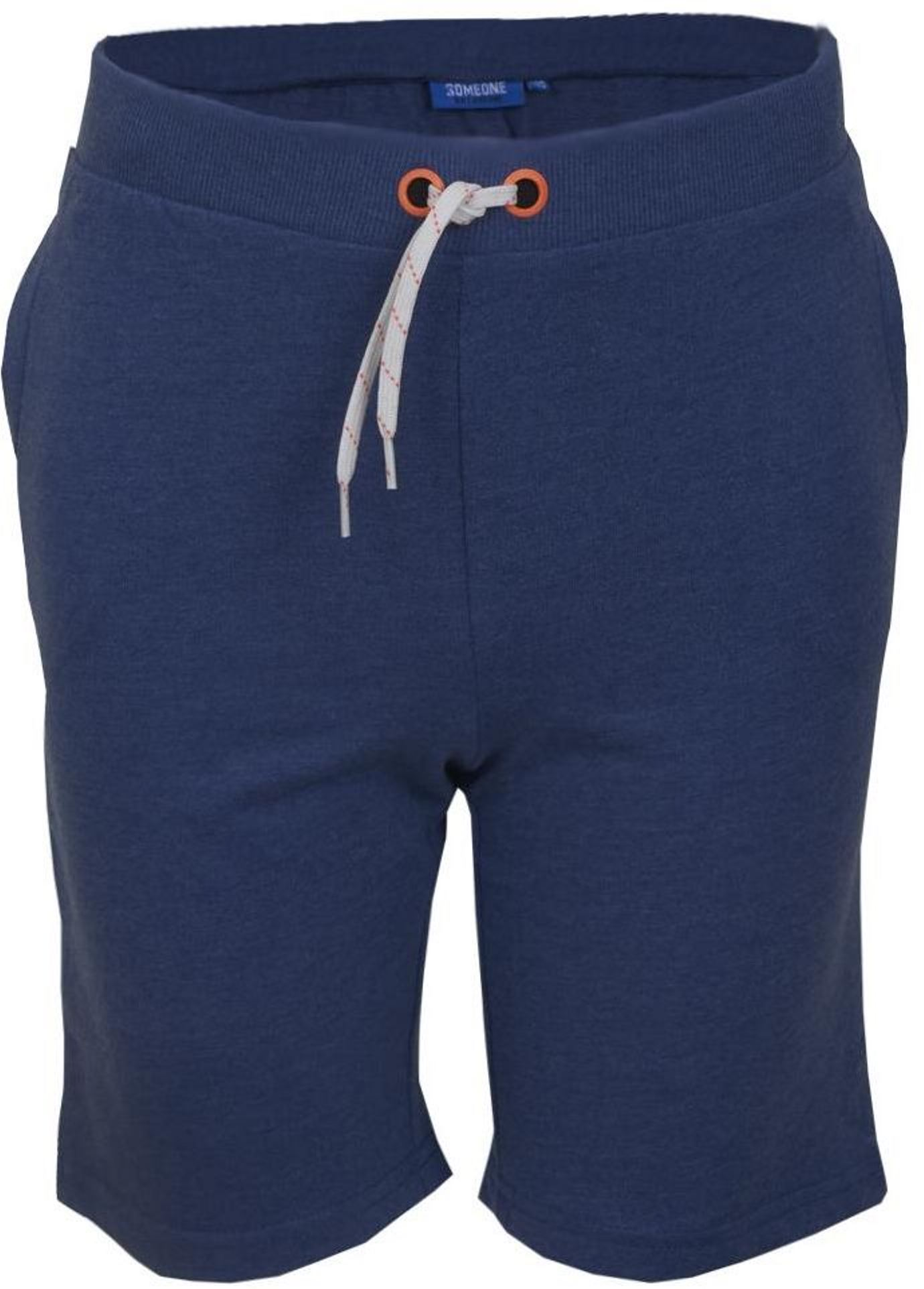 Someone Boy Sweatshorts dark blue melange
