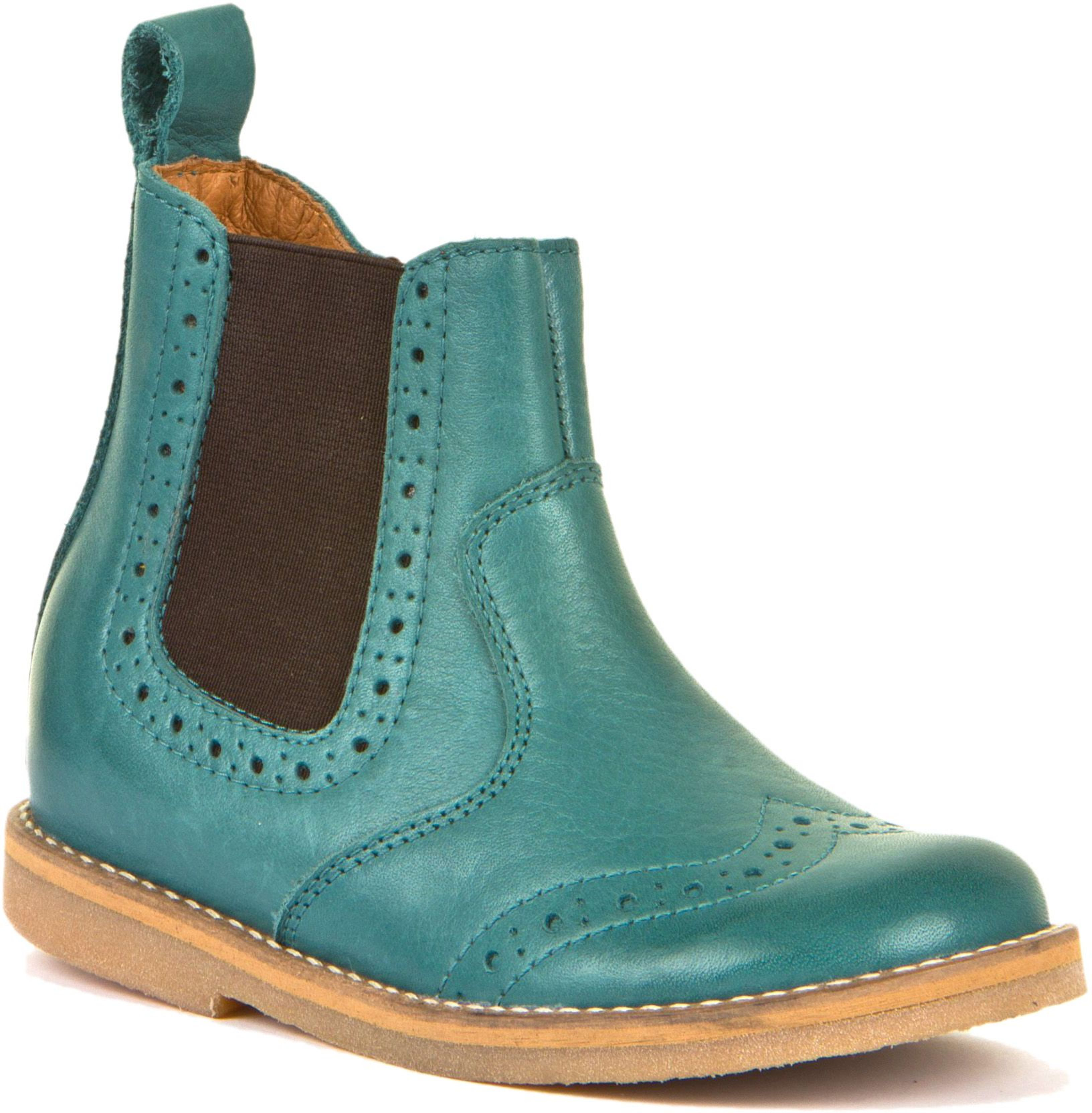 Froddo Chelsea Boots Brogue Petroleum