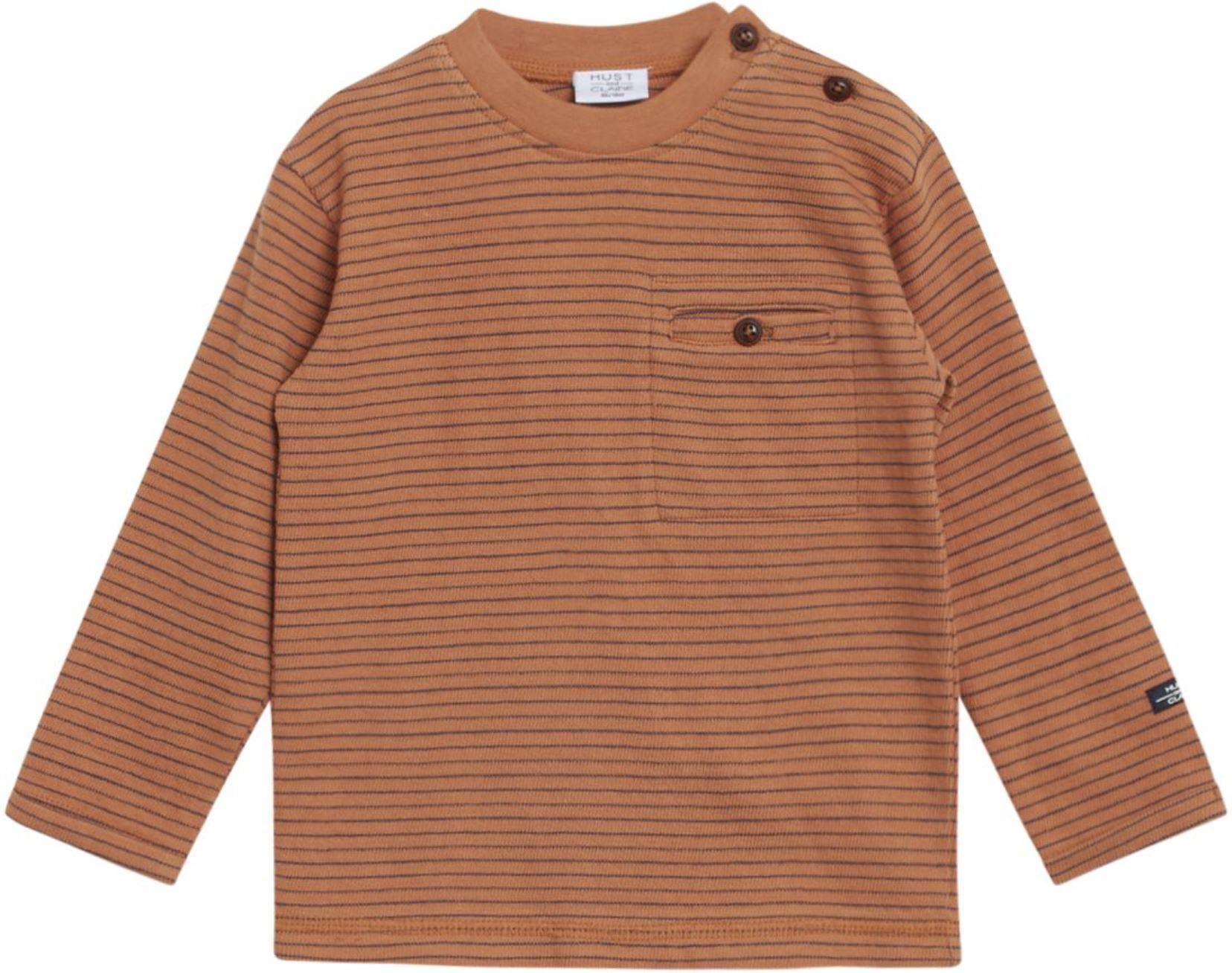 Hust & Claire Boy Sweatshirt Stripe leather