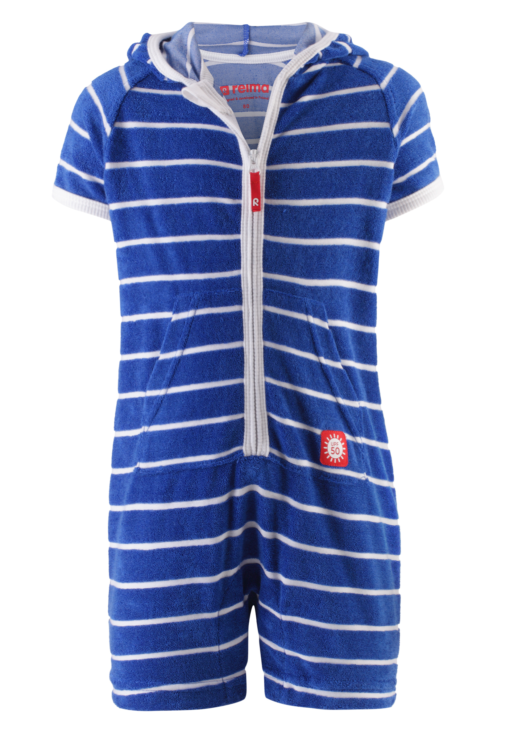 Reima Frottee-Overall Oahu Blue