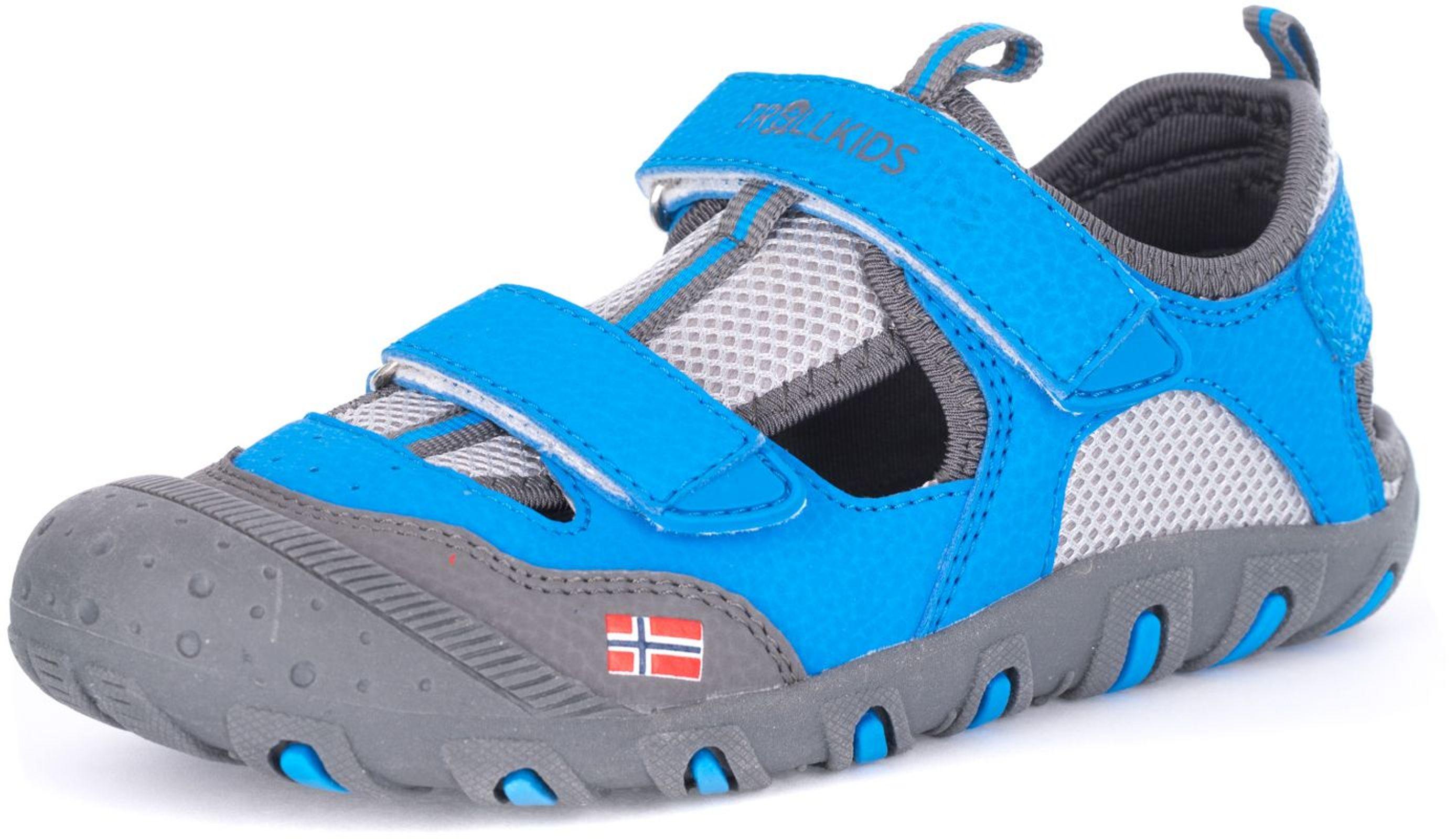 Trollkids Lillesand Sandal medium blue