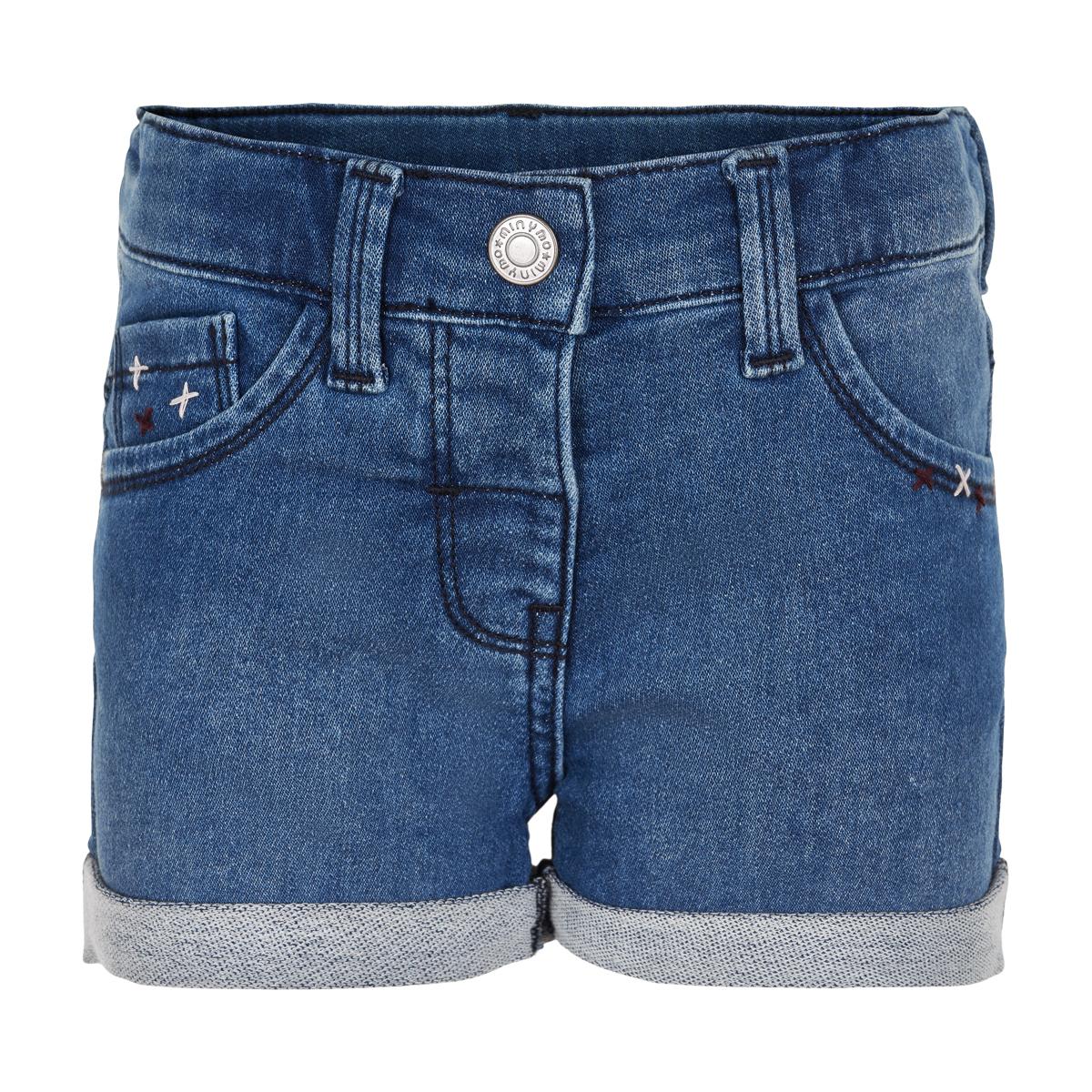 Minymo Girl Shorts Sweat Denim Insignia Blue