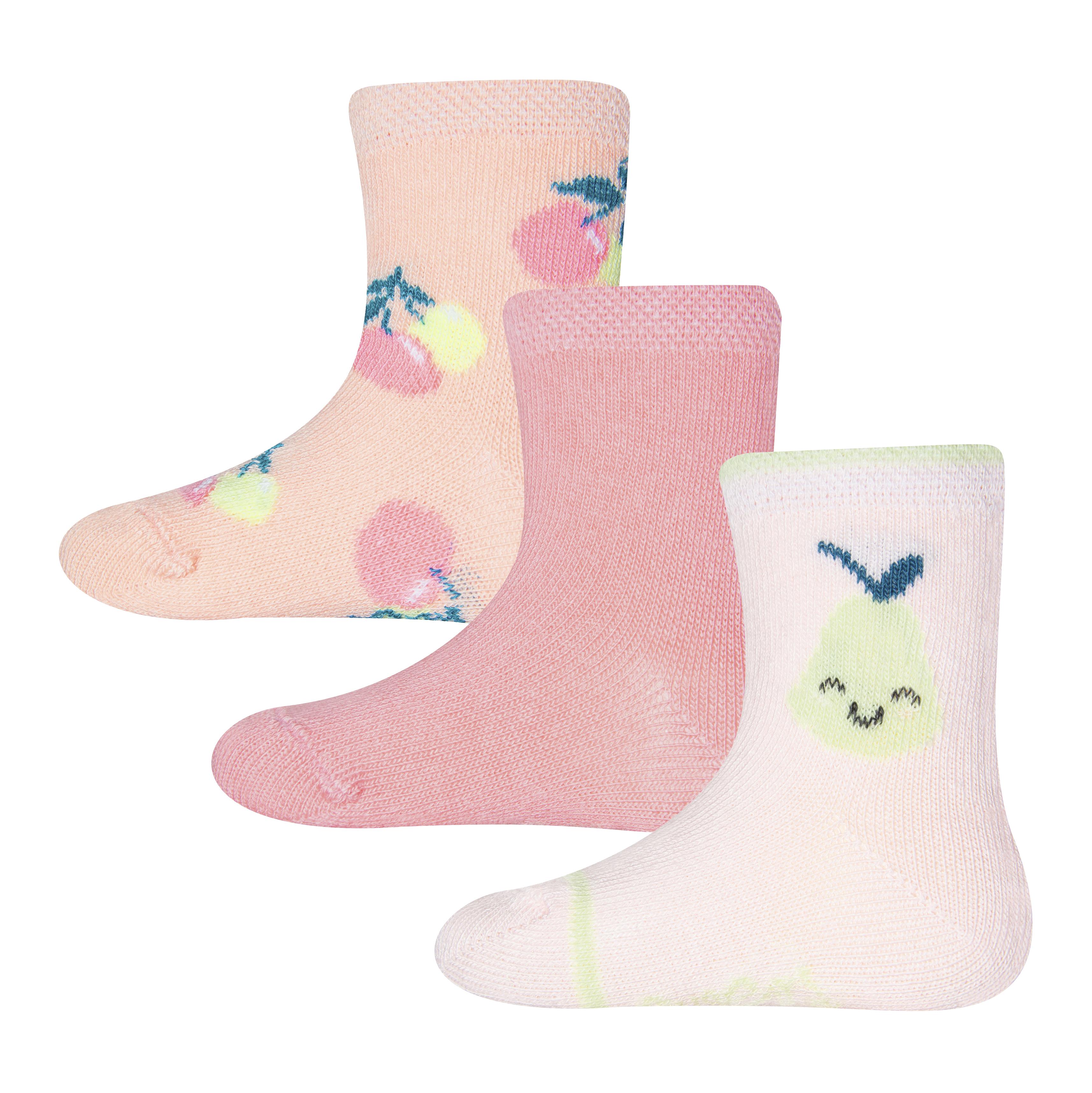 Ewers Socken 3er Pack Obst